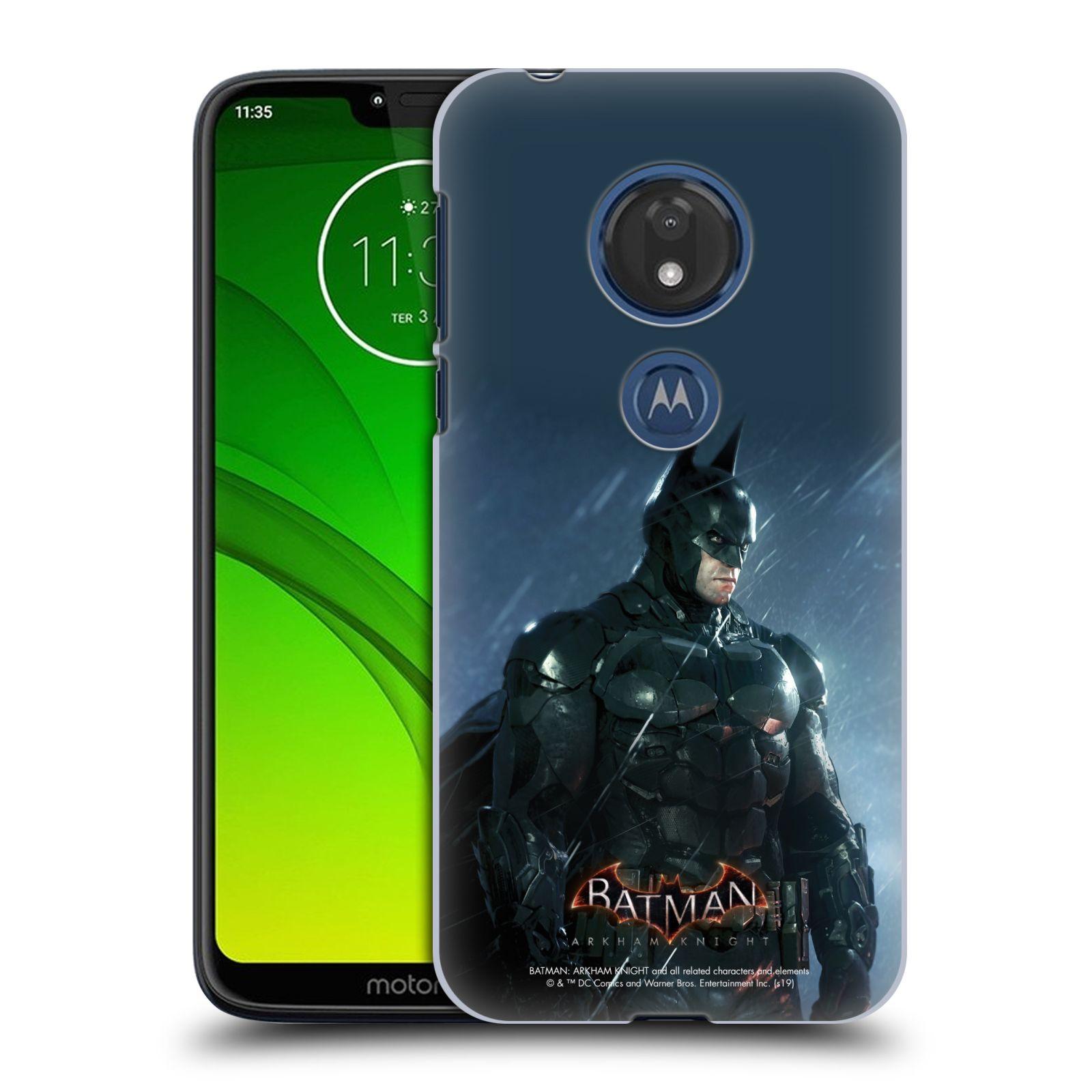 Pouzdro na mobil Motorola Moto G7 Play - HEAD CASE - Batman v dešti