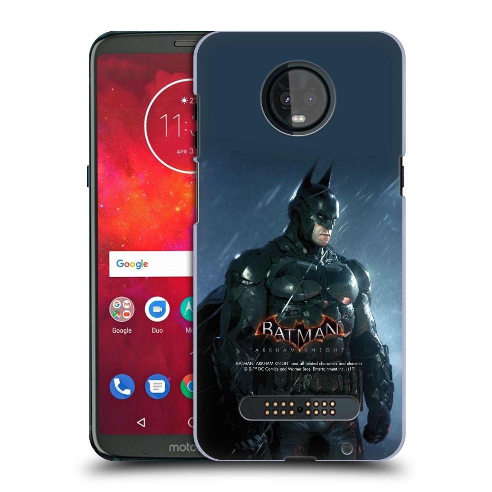 Pouzdro na mobil Motorola Moto Z3 PLAY - HEAD CASE - Batman v dešti