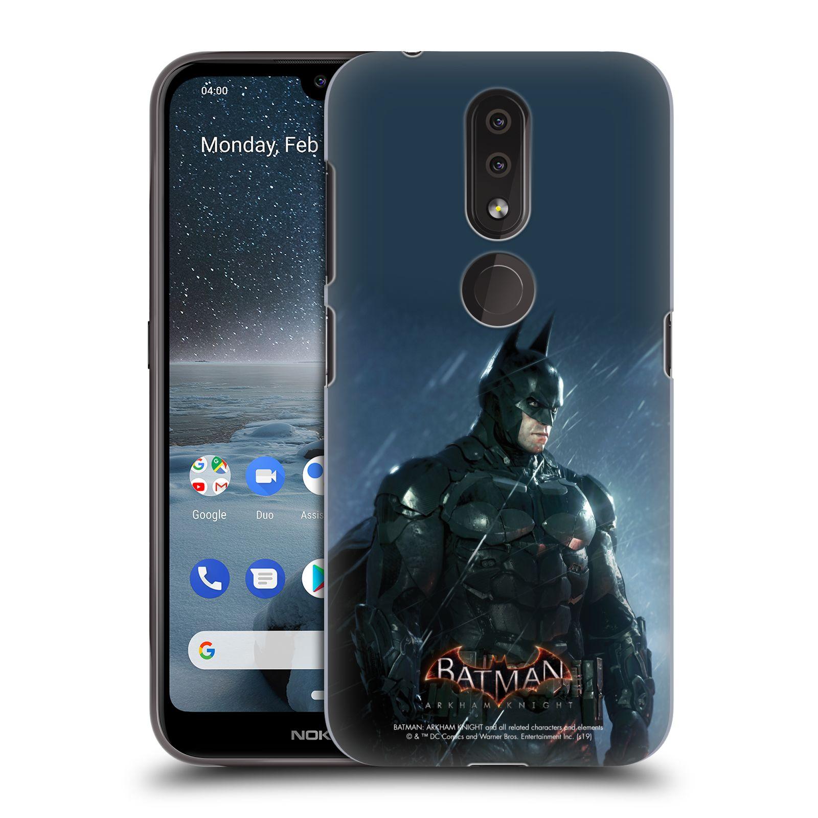 Pouzdro na mobil Nokia 4.2 - HEAD CASE - Batman v dešti