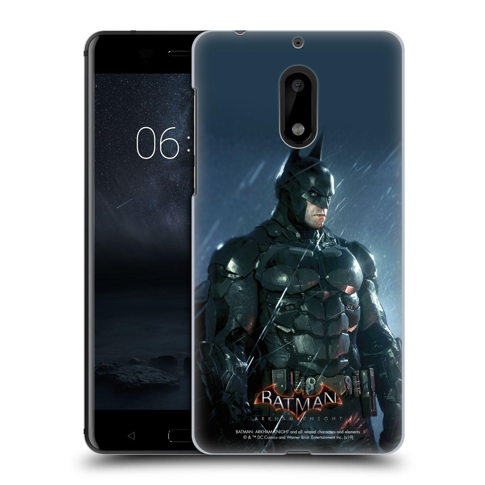Pouzdro na mobil Nokia 6 - HEAD CASE - Batman v dešti