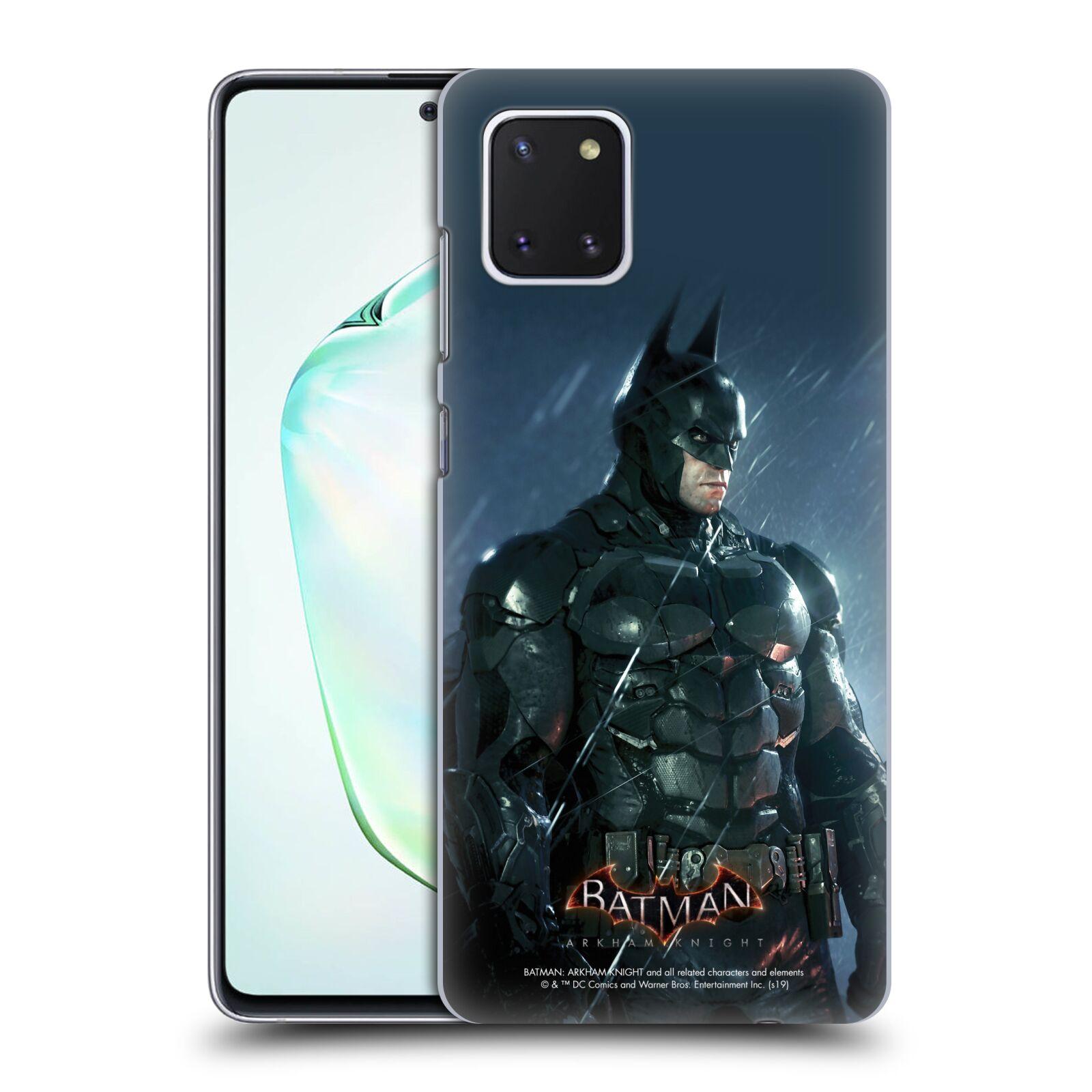 Pouzdro na mobil Samsung Galaxy Note 10 LITE - HEAD CASE - Batman v dešti