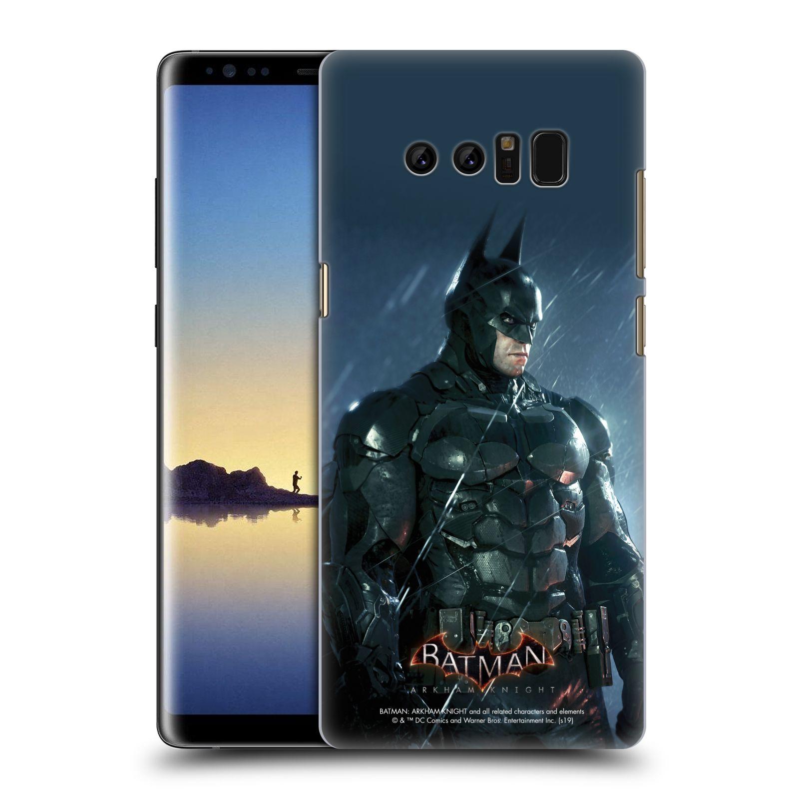 Pouzdro na mobil Samsung Galaxy Note 8 - HEAD CASE - Batman v dešti