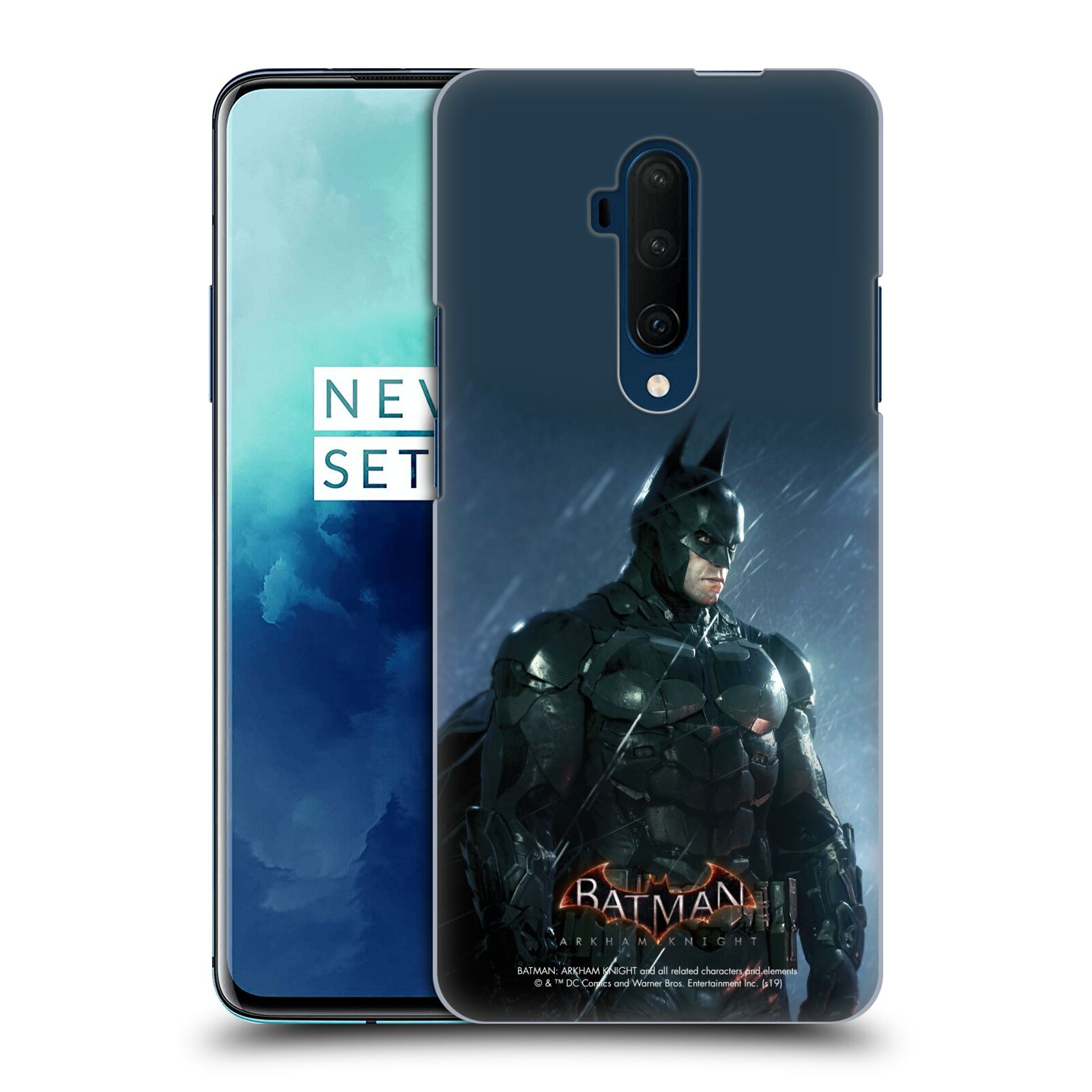 Pouzdro na mobil OnePlus 7T Pro - HEAD CASE - Batman v dešti