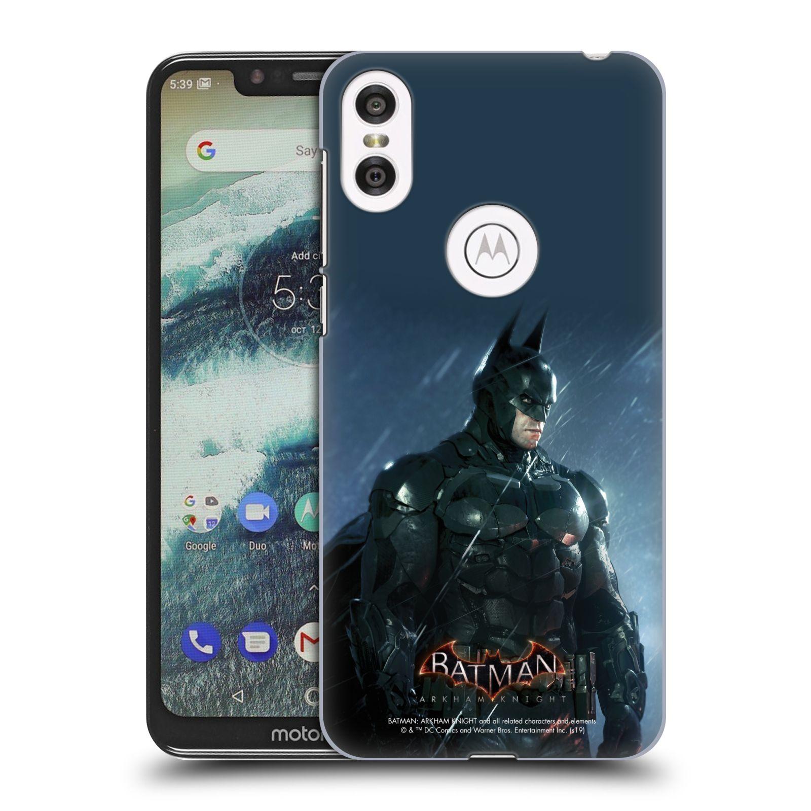 Pouzdro na mobil Motorola Moto ONE - HEAD CASE - Batman v dešti
