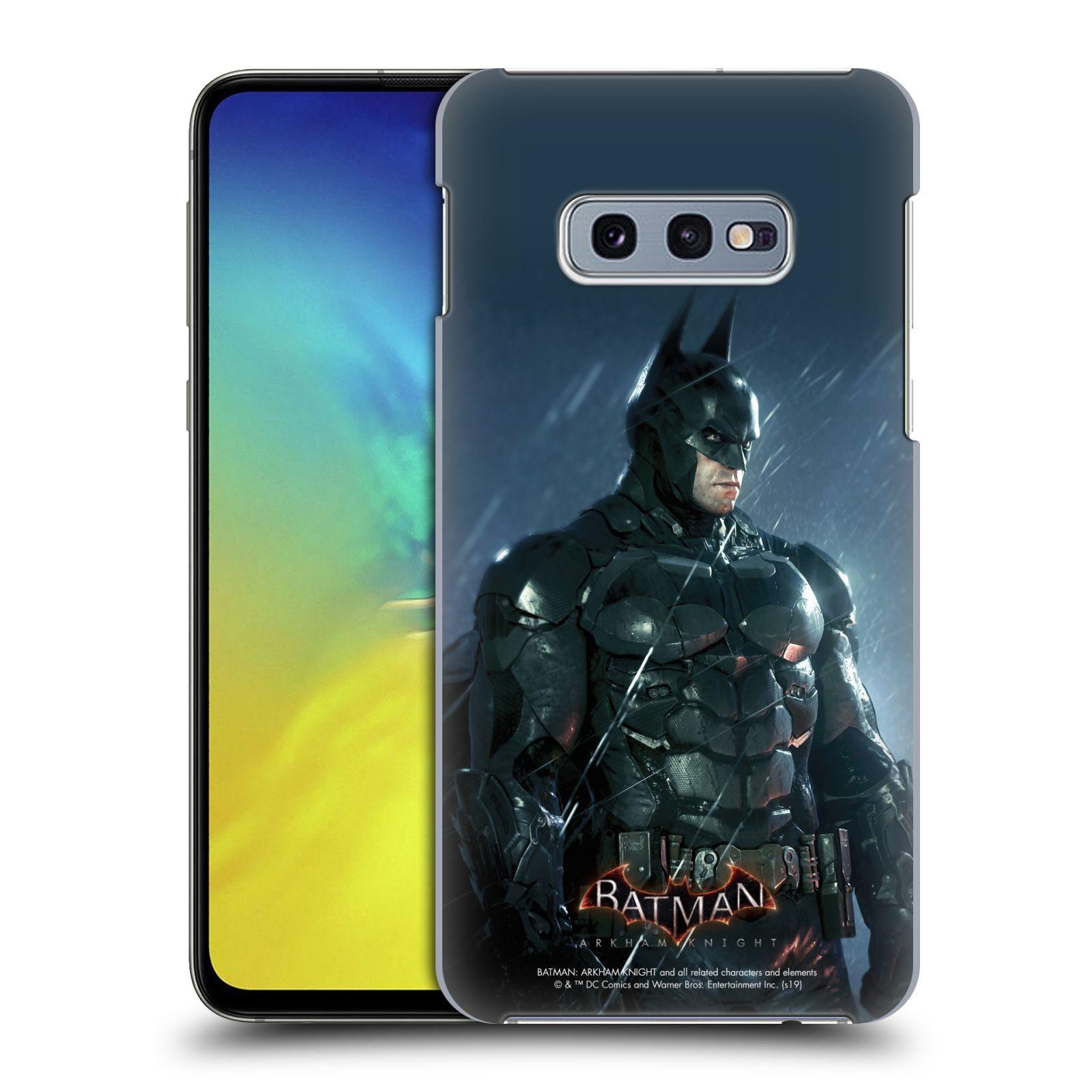 Pouzdro na mobil Samsung Galaxy S10e - HEAD CASE - Batman v dešti