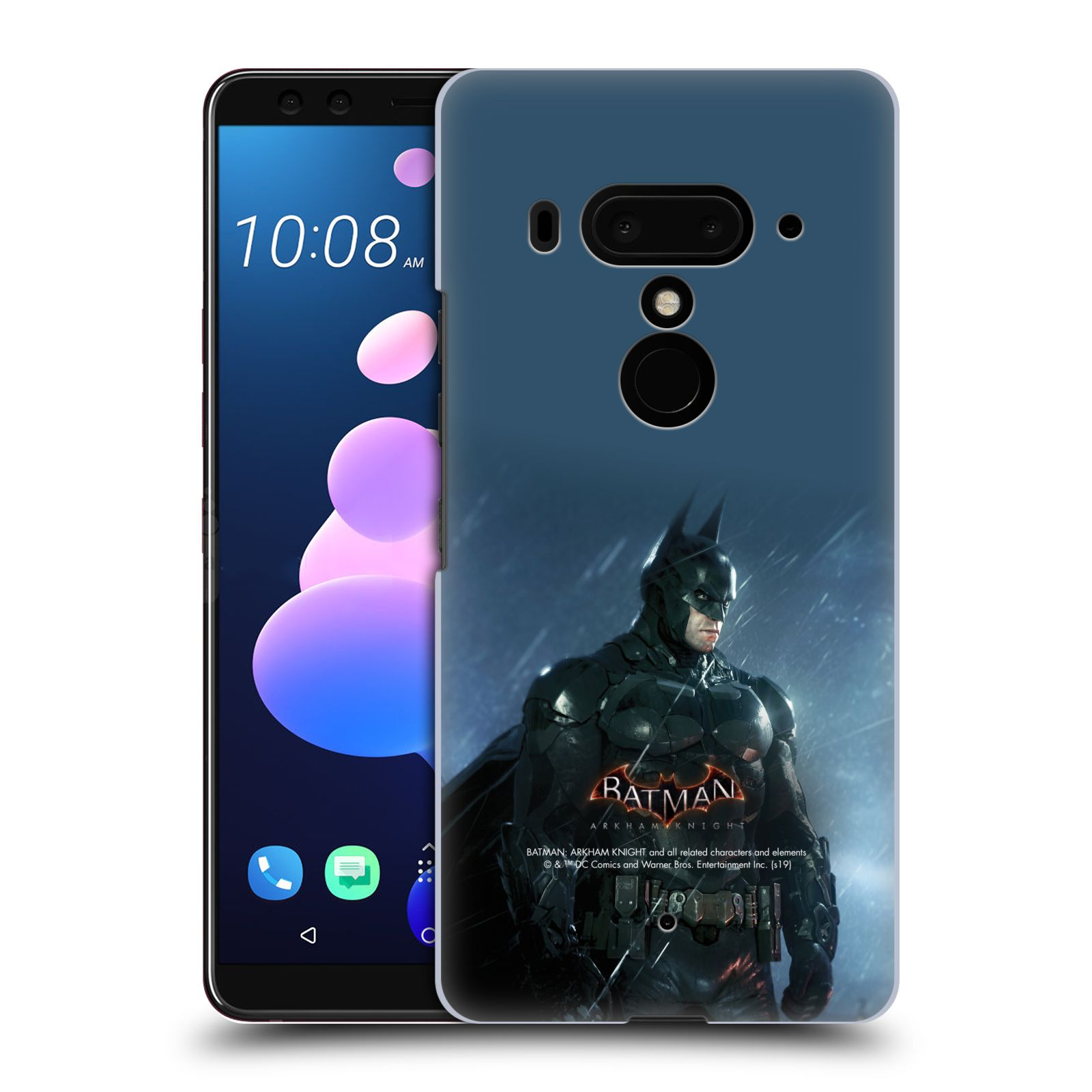 Pouzdro na mobil HTC U 12 PLUS / U 12+ DUAL SIM - HEAD CASE - Batman v dešti