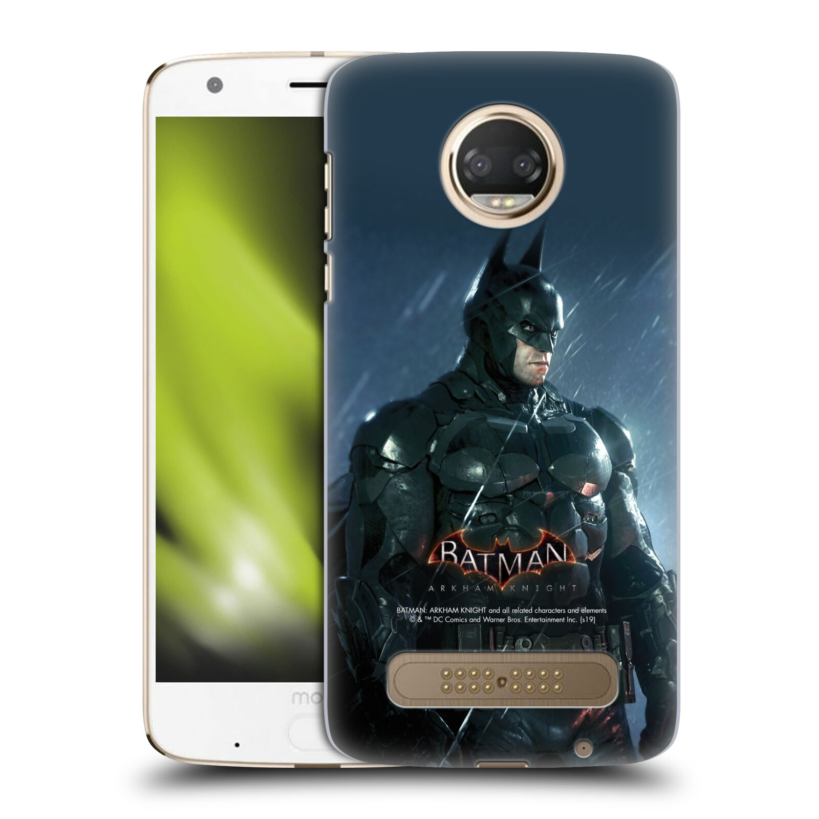 Pouzdro na mobil Motorola Moto Z2 PLAY - HEAD CASE - Batman v dešti