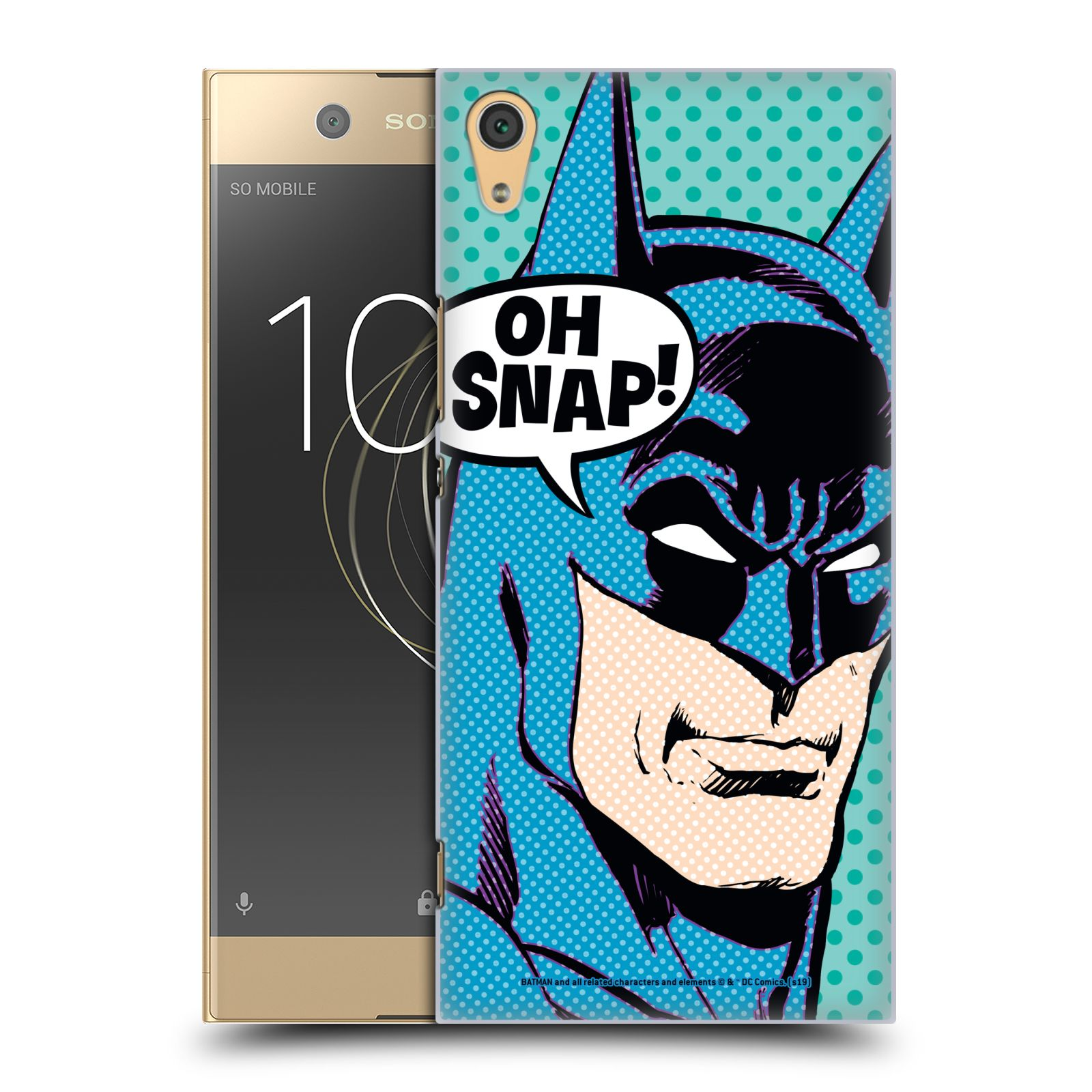 Pouzdro na mobil Sony Xperia XA1 ULTRA - HEAD CASE - DC komix Batman Pop Art tvář