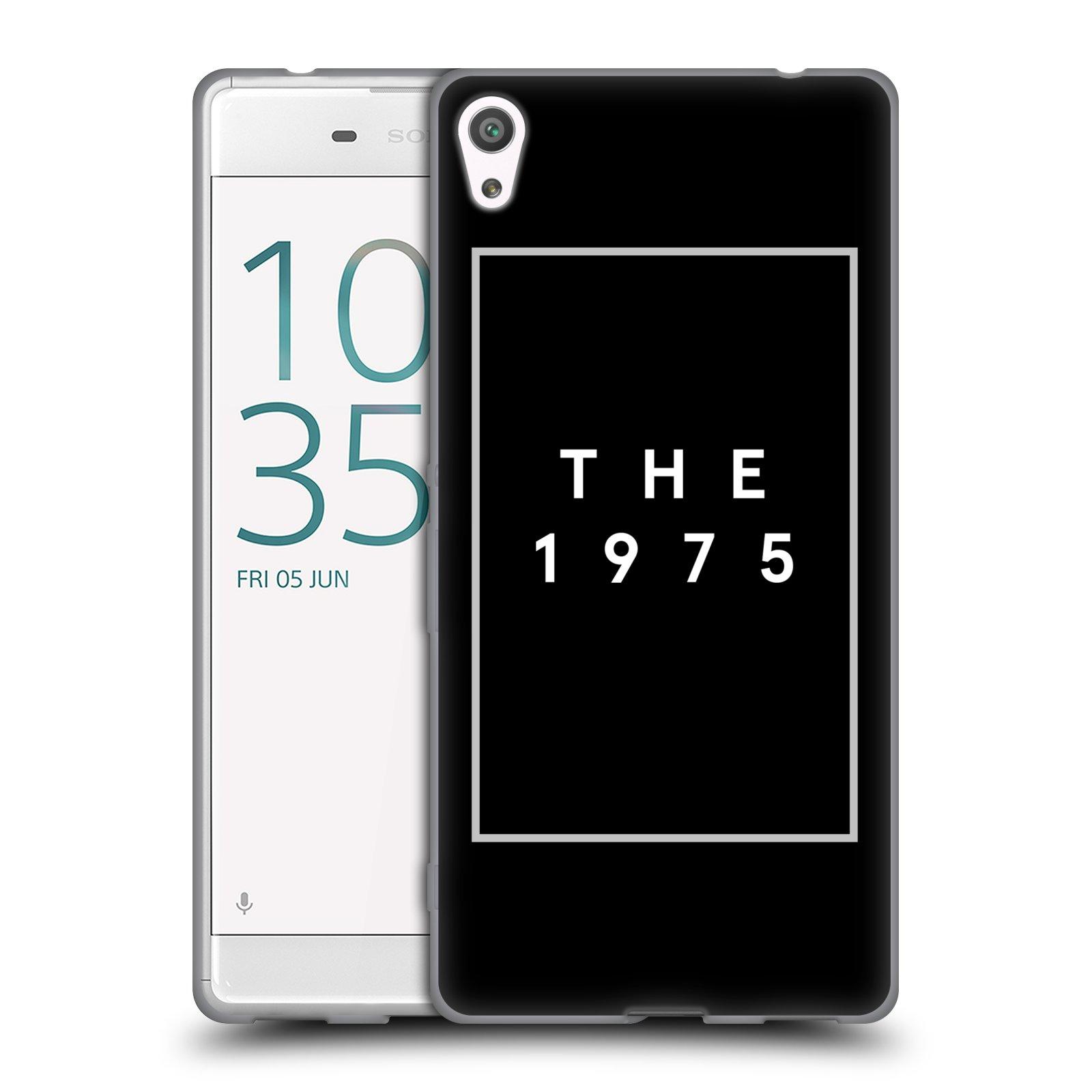 HEAD CASE silikonový obal na mobil Sony Xperia XA ULTRA indie rock skupina The 1975 černá