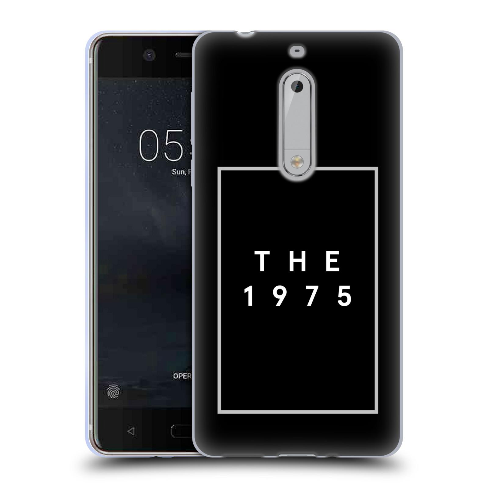 HEAD CASE silikonový obal na mobil Nokia 5 indie rock skupina The 1975 černá