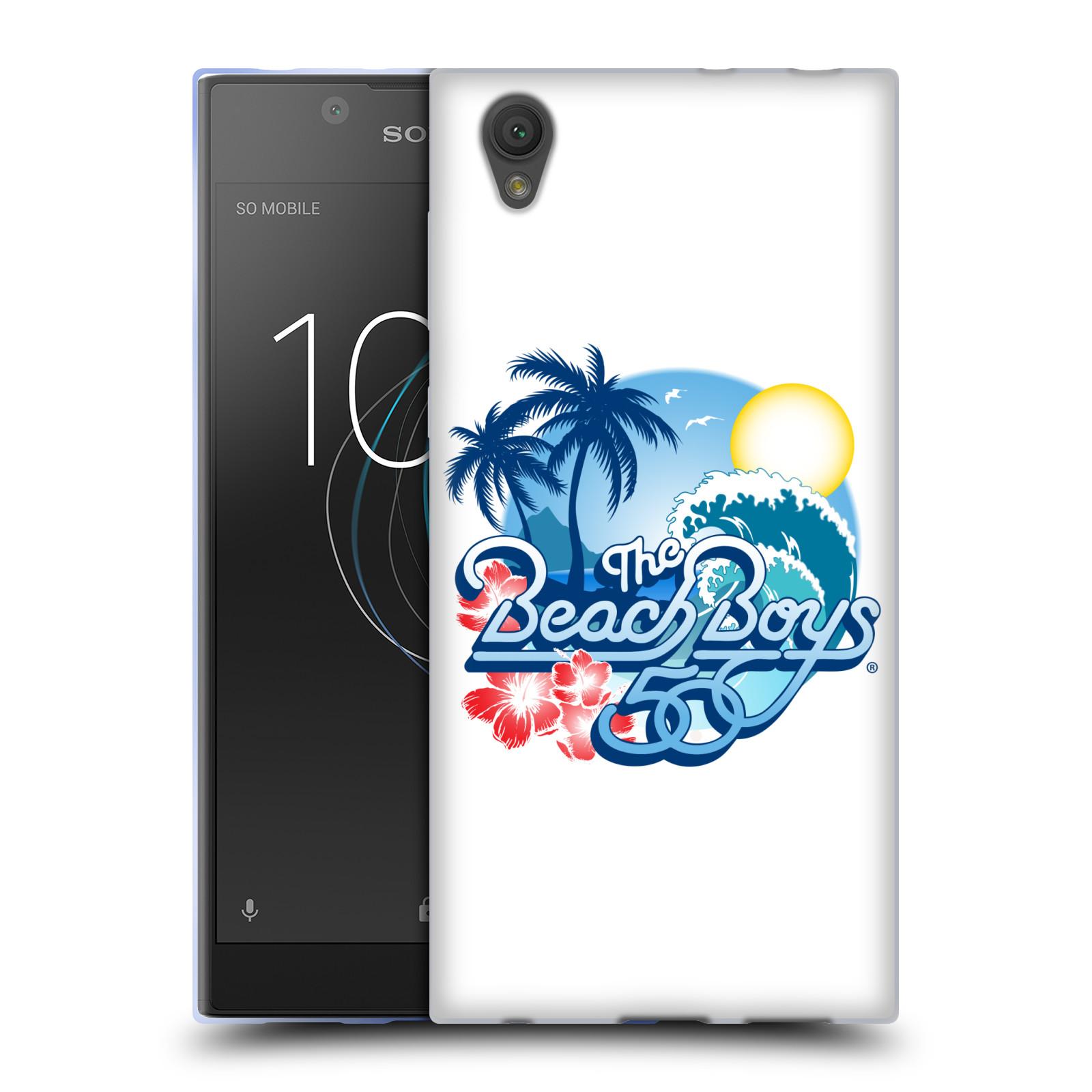 HEAD CASE silikonový obal na mobil Sony Xperia L1 skupina The Beach Boys logo 50. výročí