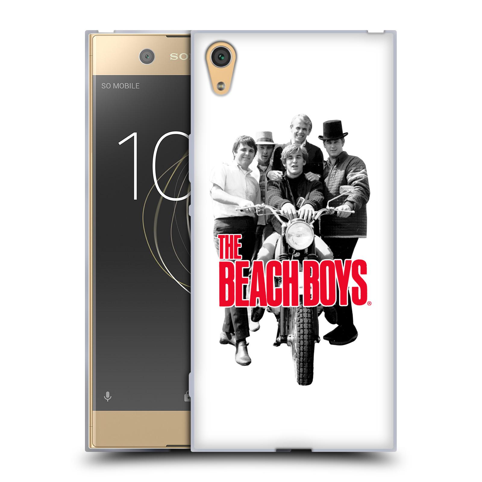 HEAD CASE silikonový obal na mobil Sony Xperia XA1 ULTRA skupina The Beach Boys foto