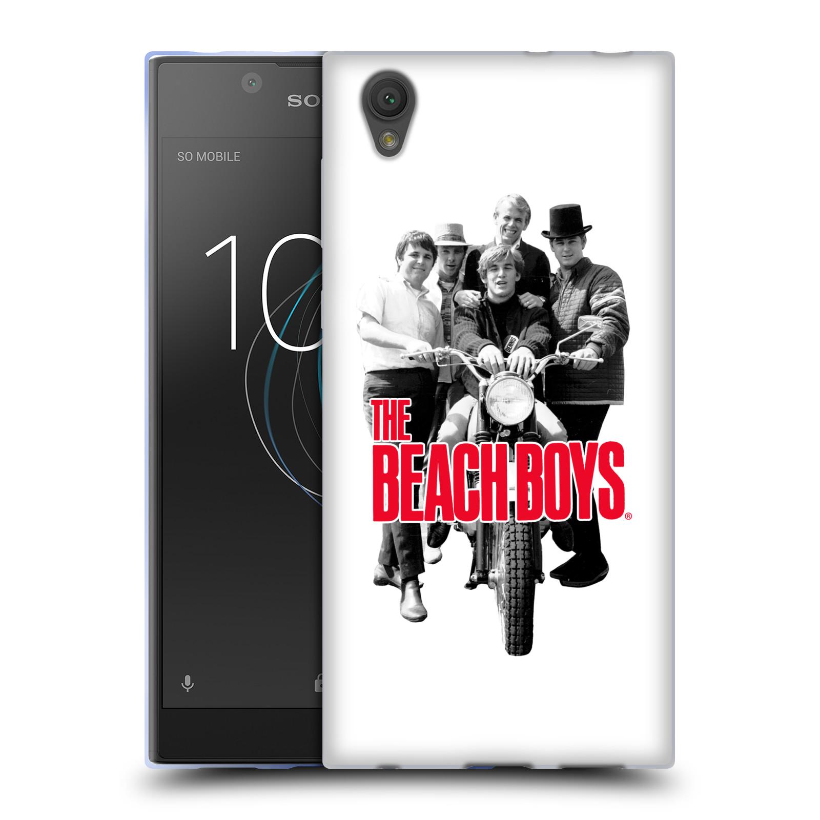 HEAD CASE silikonový obal na mobil Sony Xperia L1 skupina The Beach Boys foto