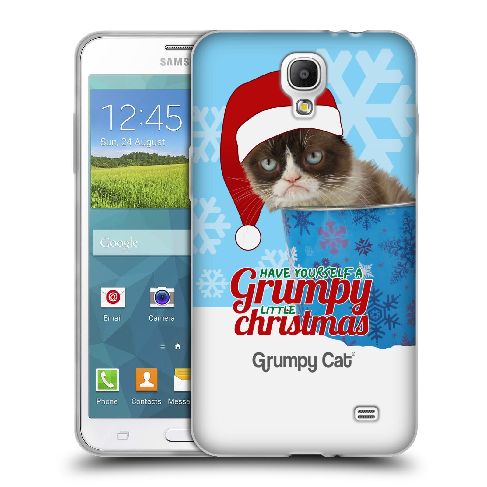 offizielle grumpy cat weihnachten soft gel h lle f r samsung handys 4 ebay. Black Bedroom Furniture Sets. Home Design Ideas