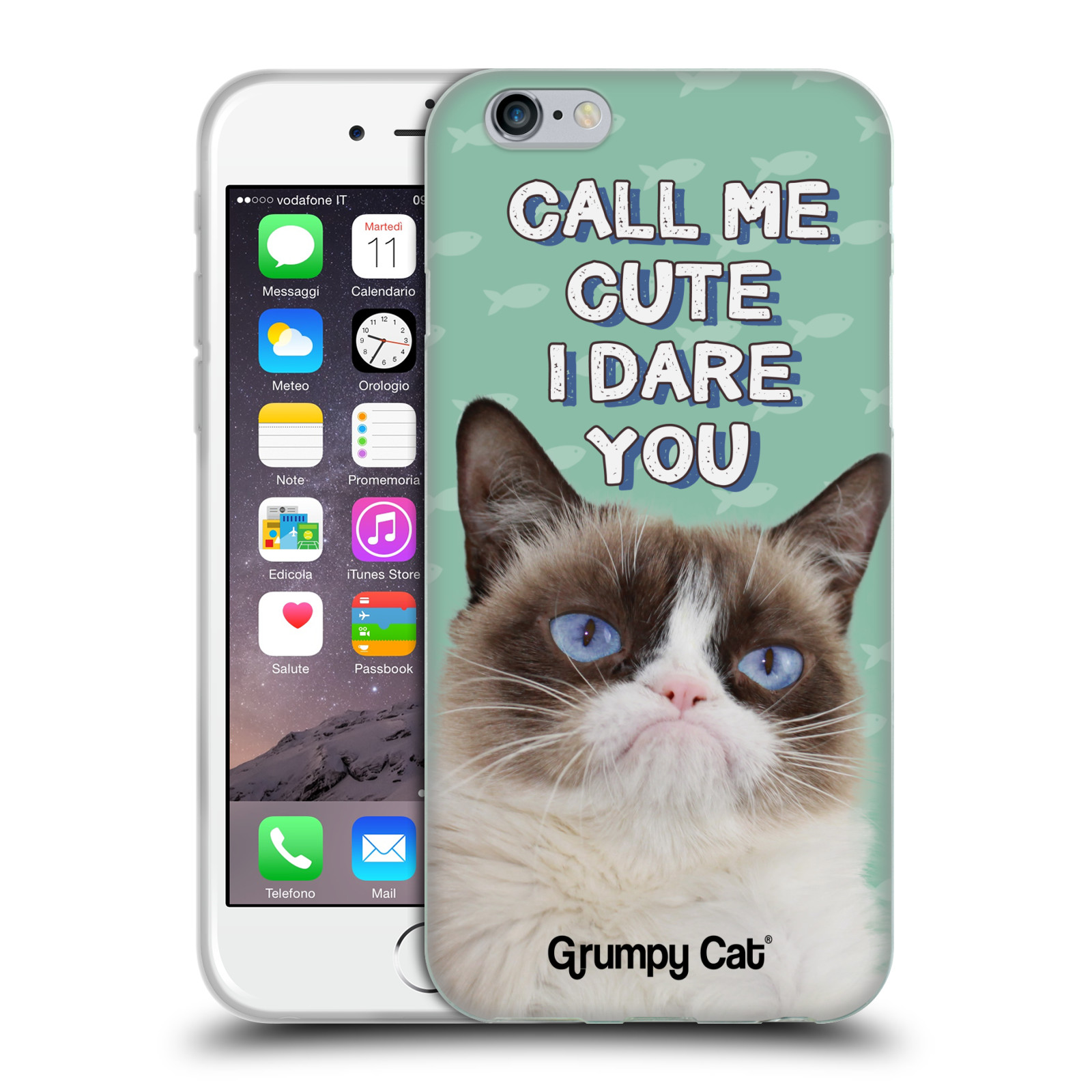 OFFICIAL GRUMPY CAT QUOTES SOFT GEL CASE FOR APPLE iPHONE ...