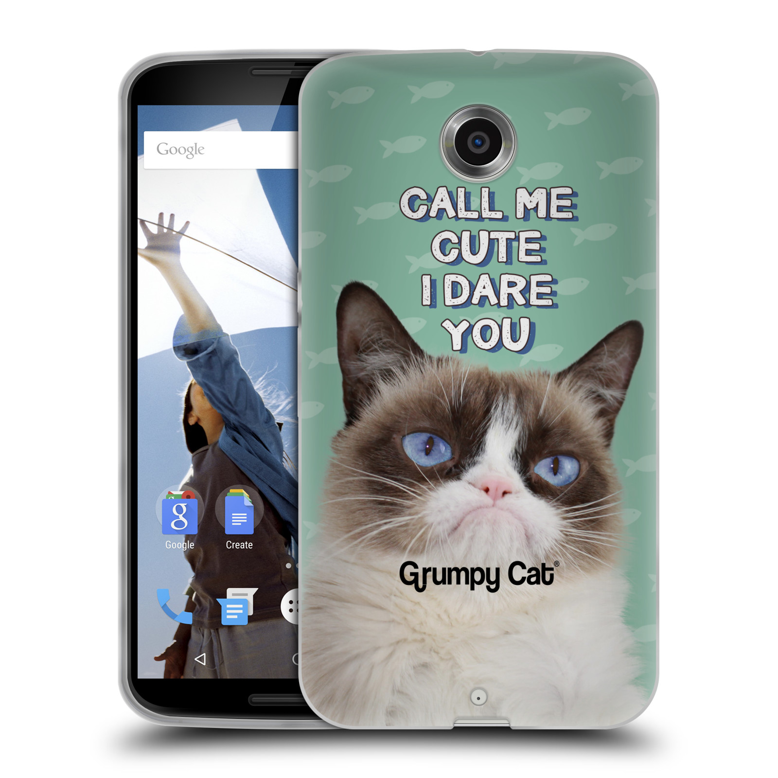 OFFICIAL GRUMPY CAT QUOTES SOFT GEL CASE FOR MOTOROLA ...