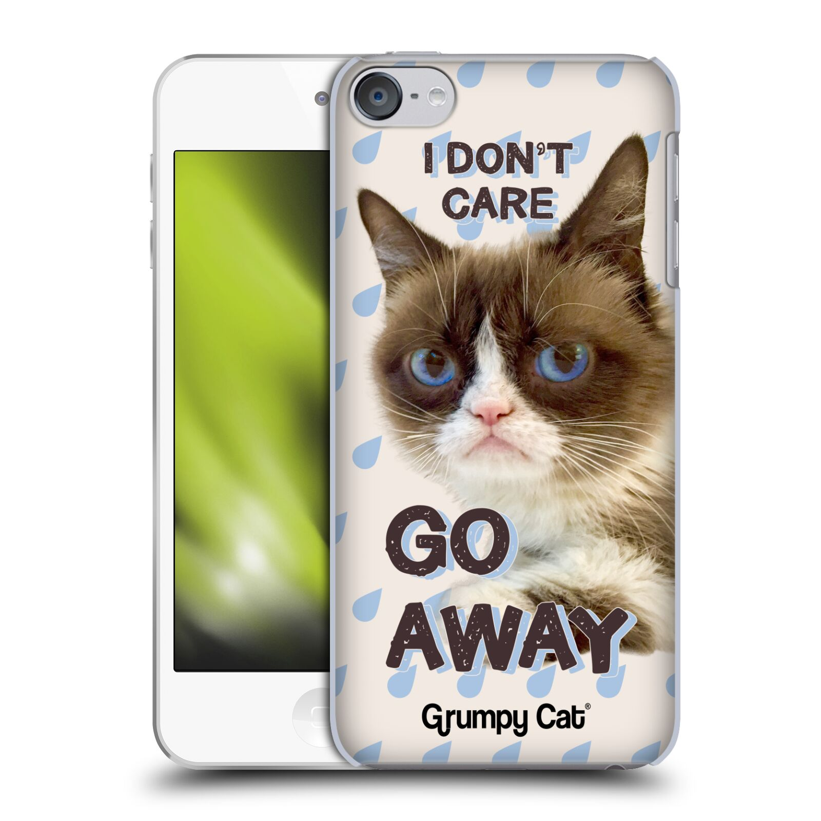 OFFICIAL GRUMPY CAT QUOTES HARD BACK CASE FOR APPLE iPOD ...