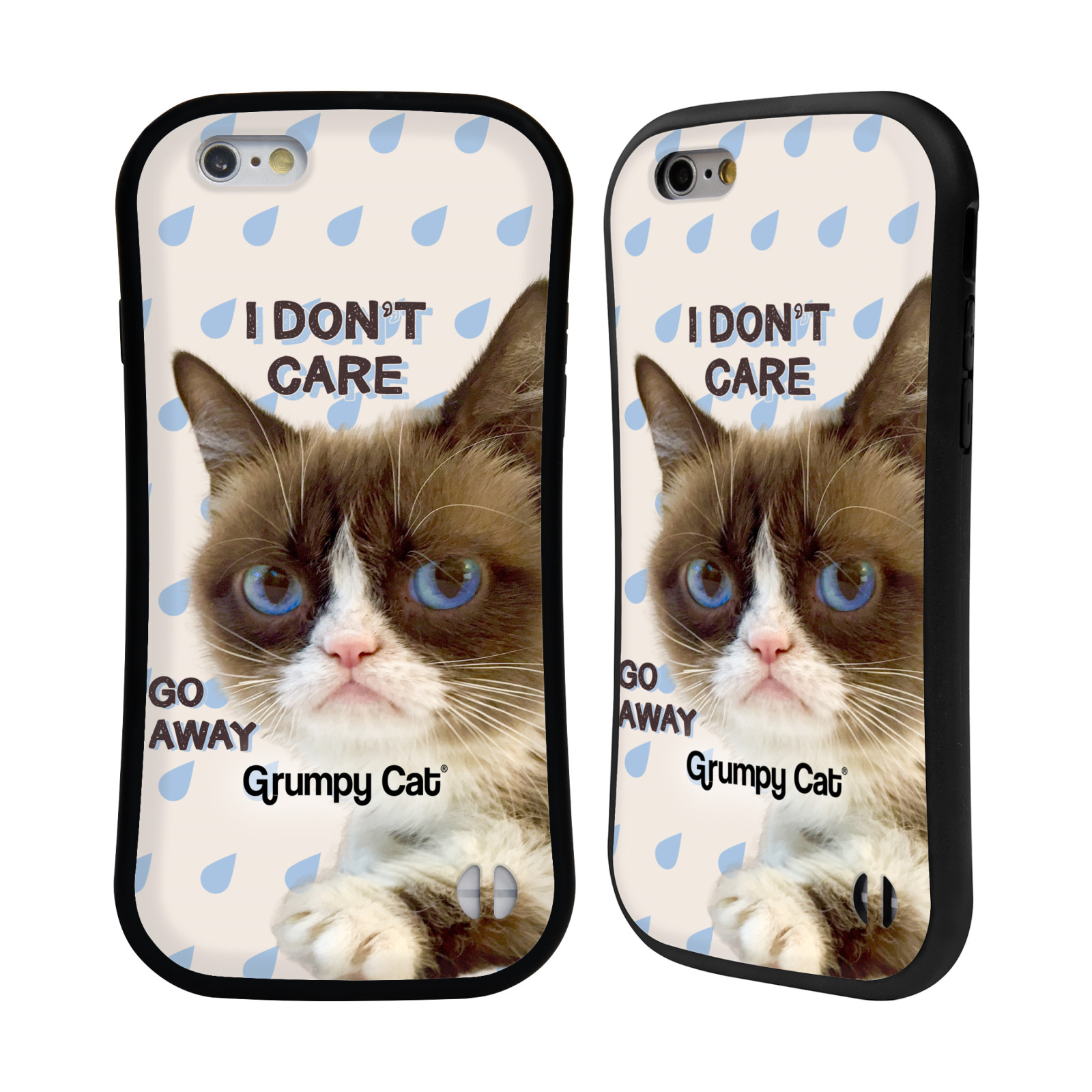 OFFICIAL GRUMPY CAT QUOTES HYBRID CASE FOR APPLE iPHONES ...