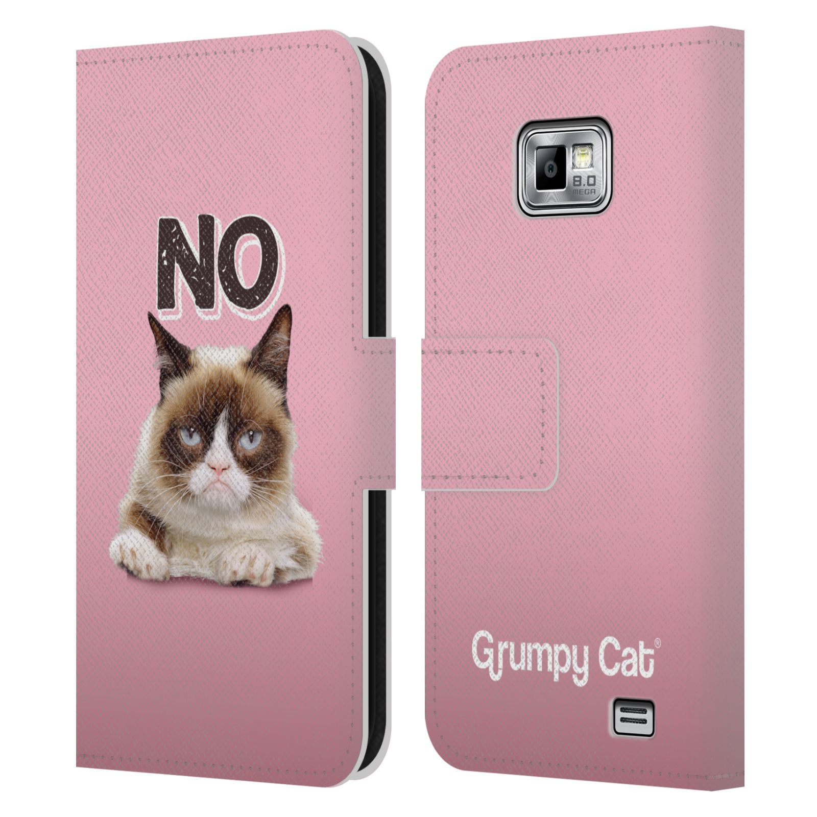 OFFICIAL GRUMPY CAT QUOTES LEATHER BOOK WALLET CASE COVER ...
