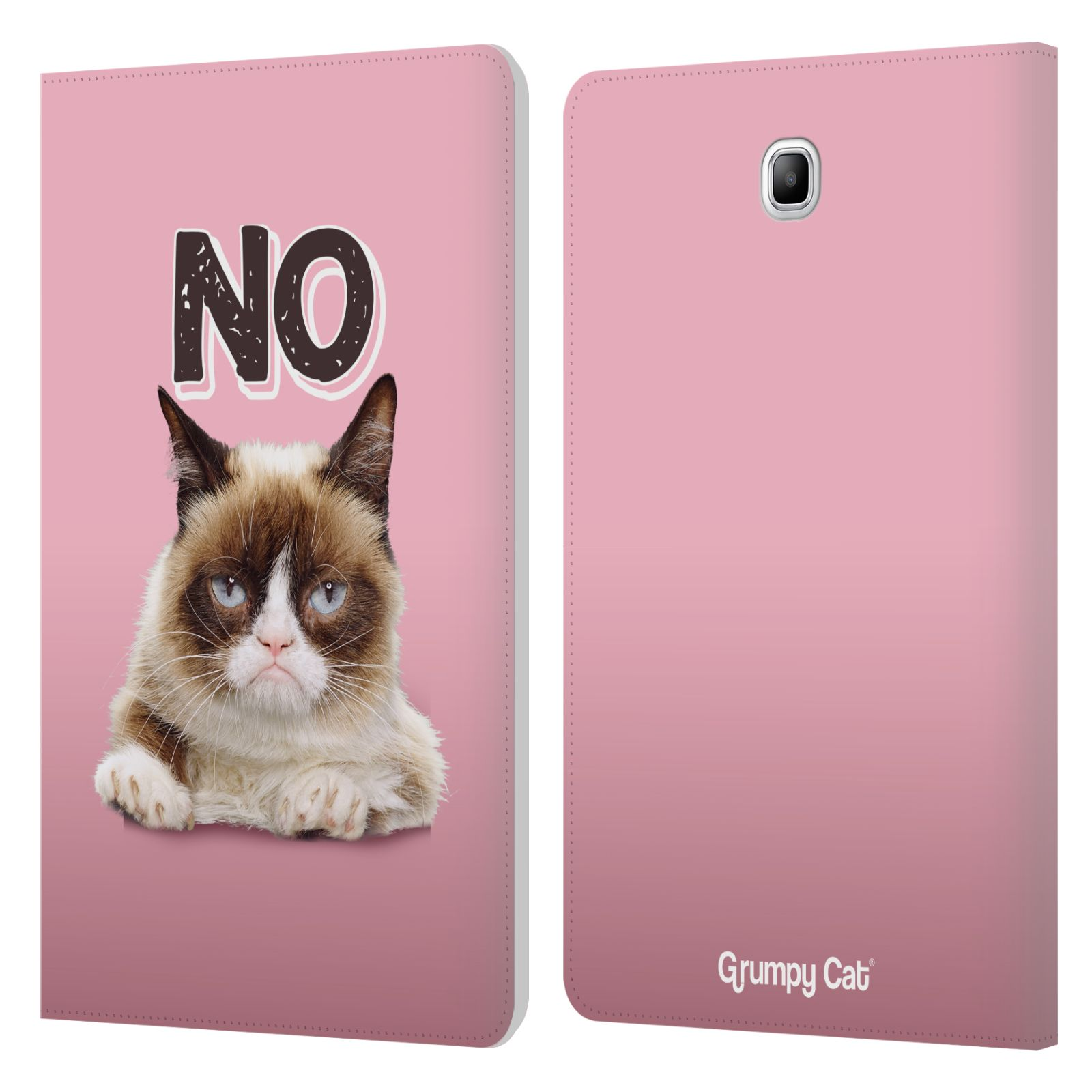 OFFICIAL GRUMPY CAT QUOTES LEATHER BOOK WALLET CASE FOR ...
