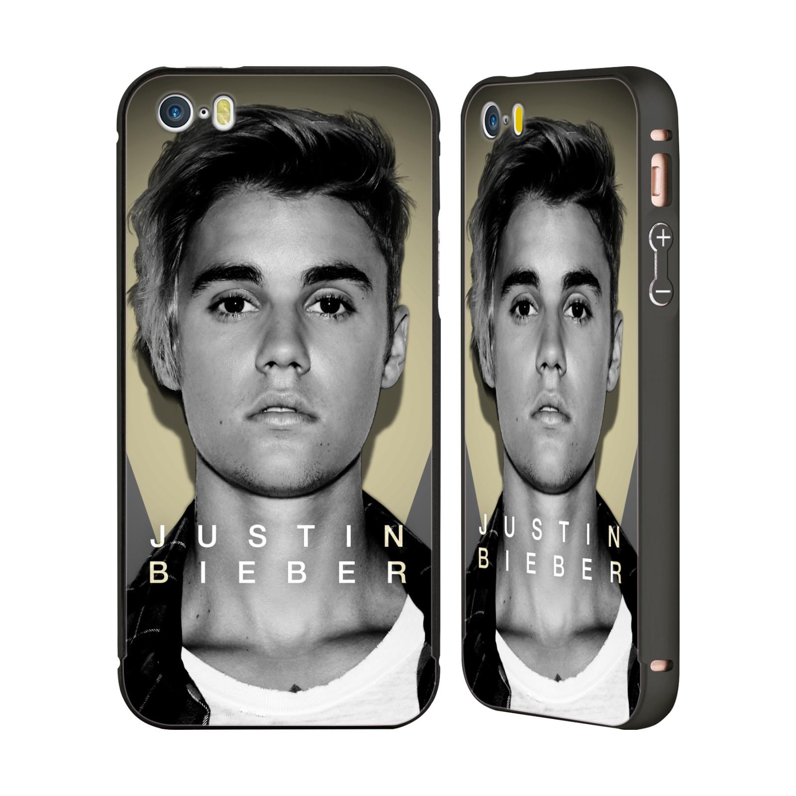 JUSTIN-BIEBER-PURPOSE-B-amp-W-BLACK-BUMPER-SLIDER-CASE-FOR-APPLE-iPHONE-PHONES