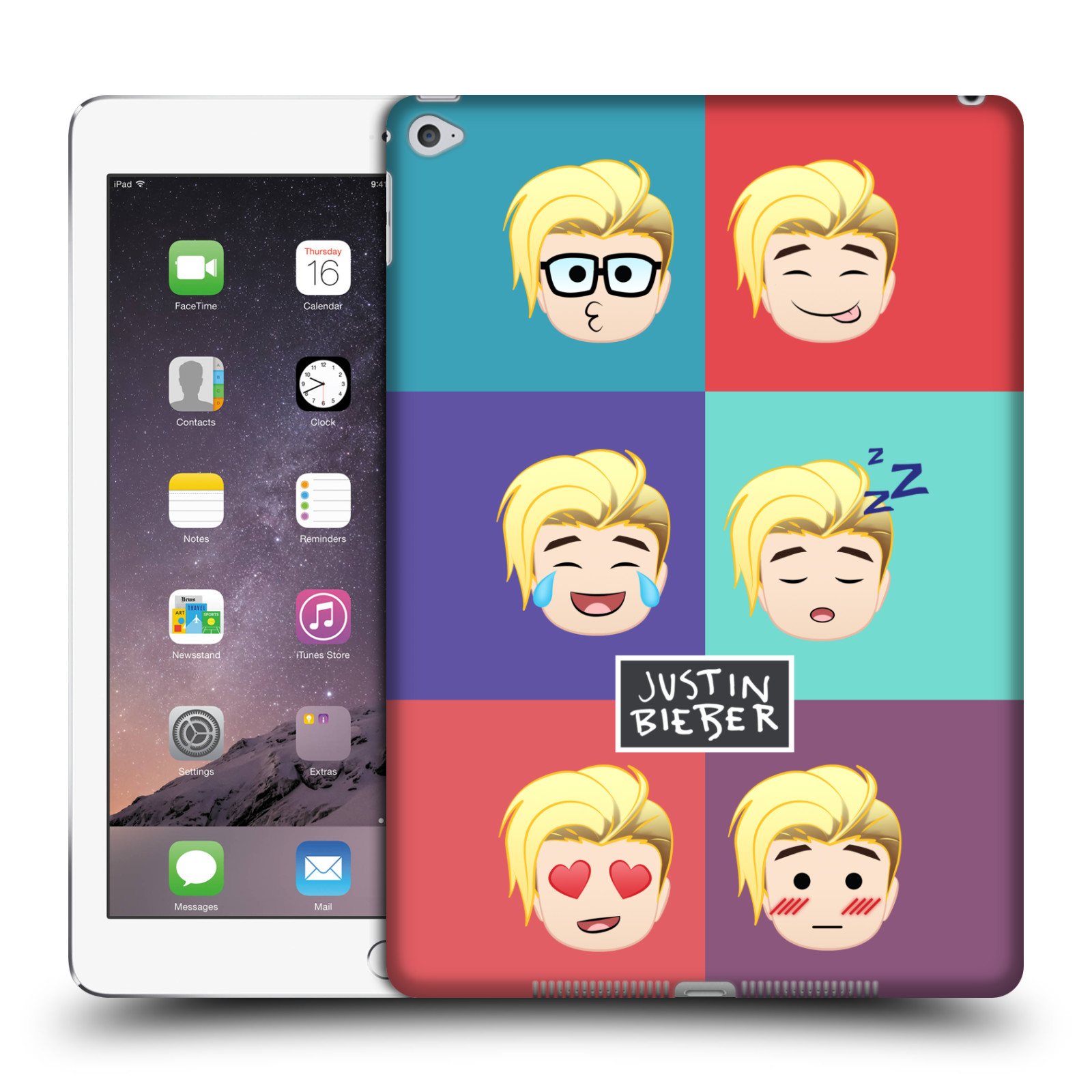 OFFICIAL-JUSTIN-BIEBER-JUSTMOJIS-HARD-BACK-CASE-FOR-APPLE-iPAD