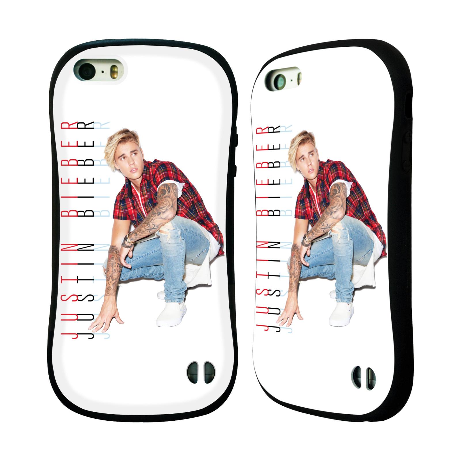 HEAD CASE silikon/plast odolný obal na mobil Apple Iphone 5 / 5S originální potisk Justin Bieber Cropped