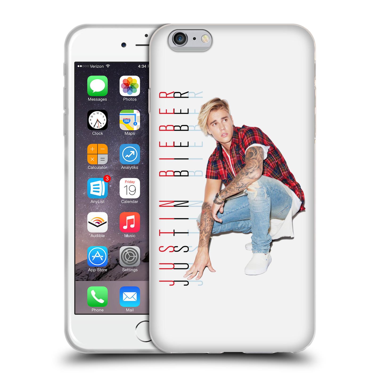 HEAD CASE silikonový obal na mobil Apple Iphone 6 PLUS   6S PLUS originální  potisk Justin Bieber Cropped 7eb103bcf99