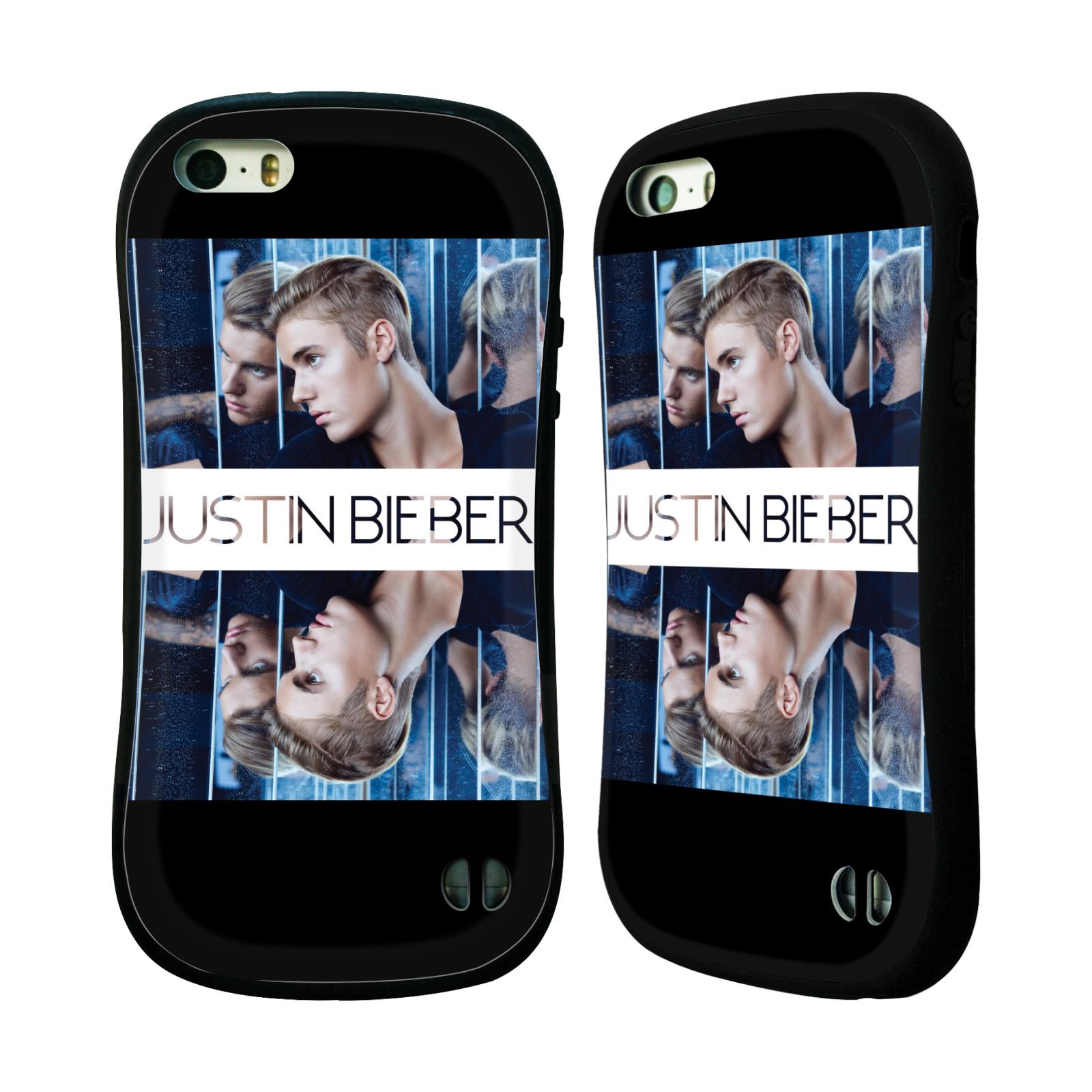 HEAD CASE silikon/plast odolný obal na mobil Apple Iphone 5 / 5S originální potisk Justin Bieber Zrcadlo