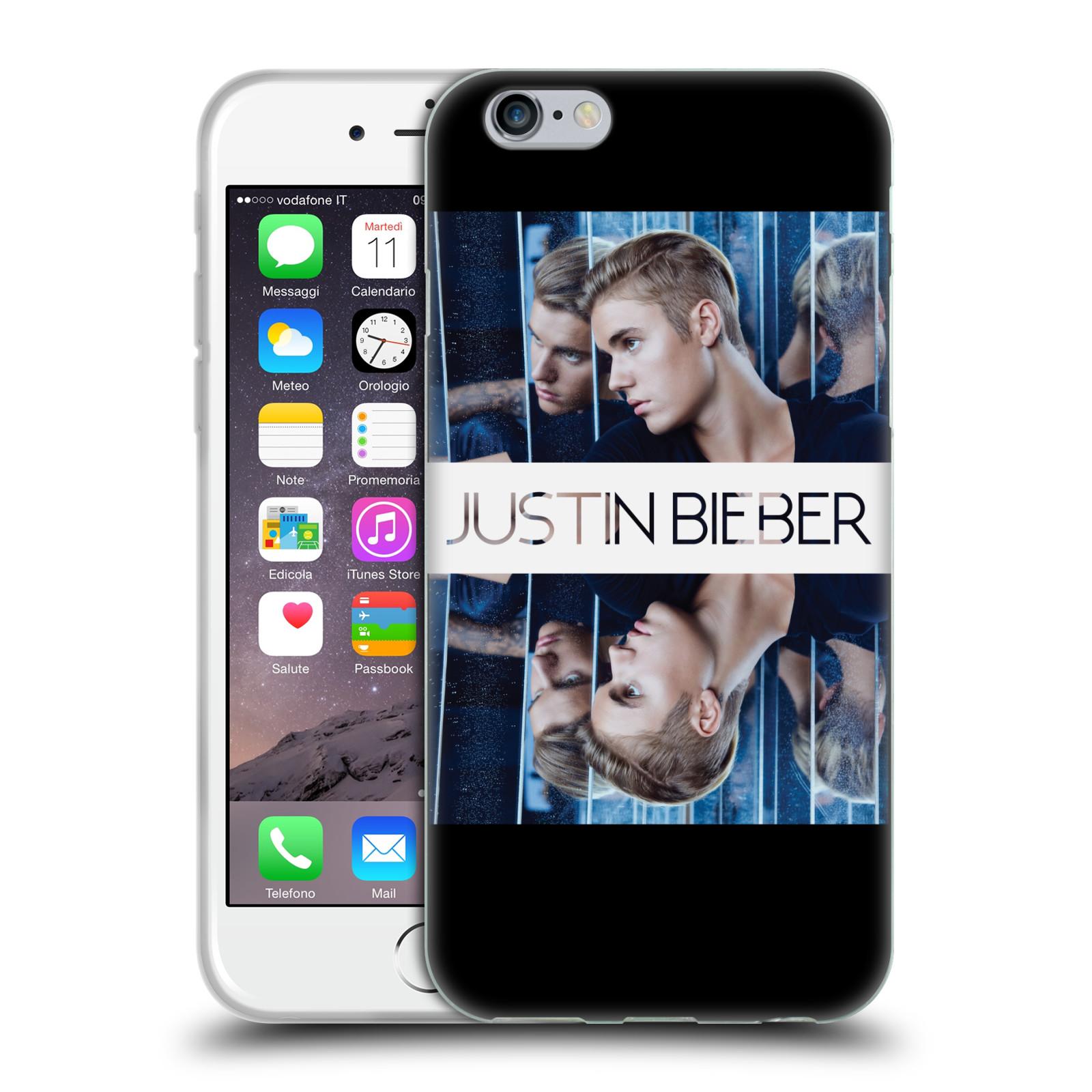 HEAD CASE silikonový obal na mobil Apple Iphone 6 / 6S originální potisk Justin Bieber Zrcadlo
