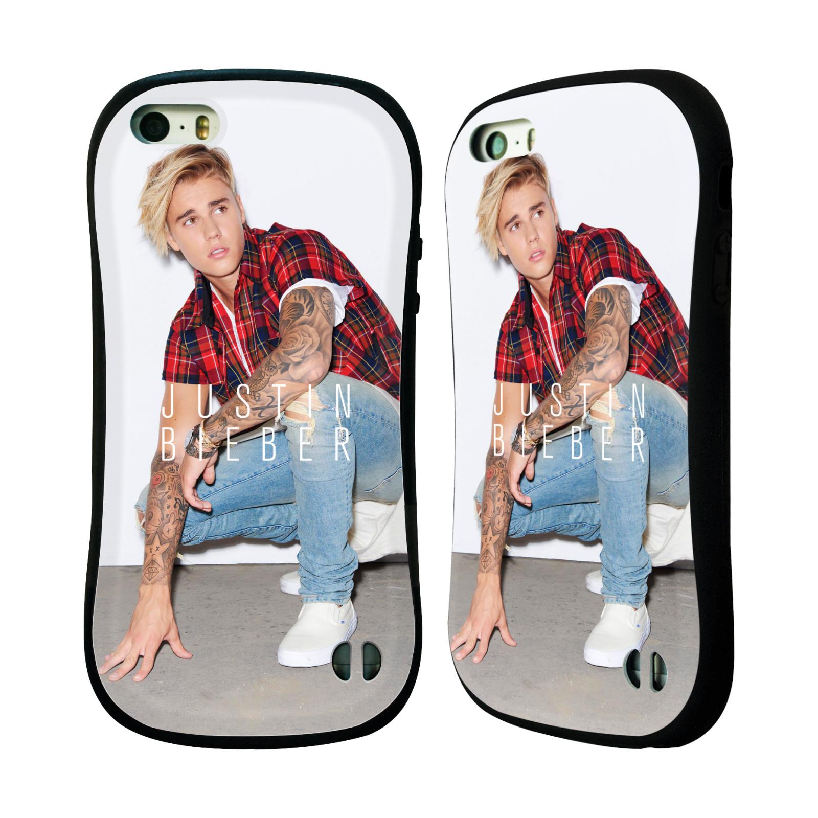 HEAD CASE silikon/plast odolný obal na mobil Apple Iphone 5 / 5S originální potisk Justin Bieber Uncropped