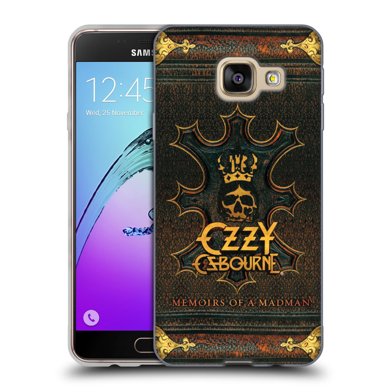 HEAD CASE silikonový obal na mobil Samsung Galaxy A3 2016 (A310) zpěvák Ozzy Osbourne koruna