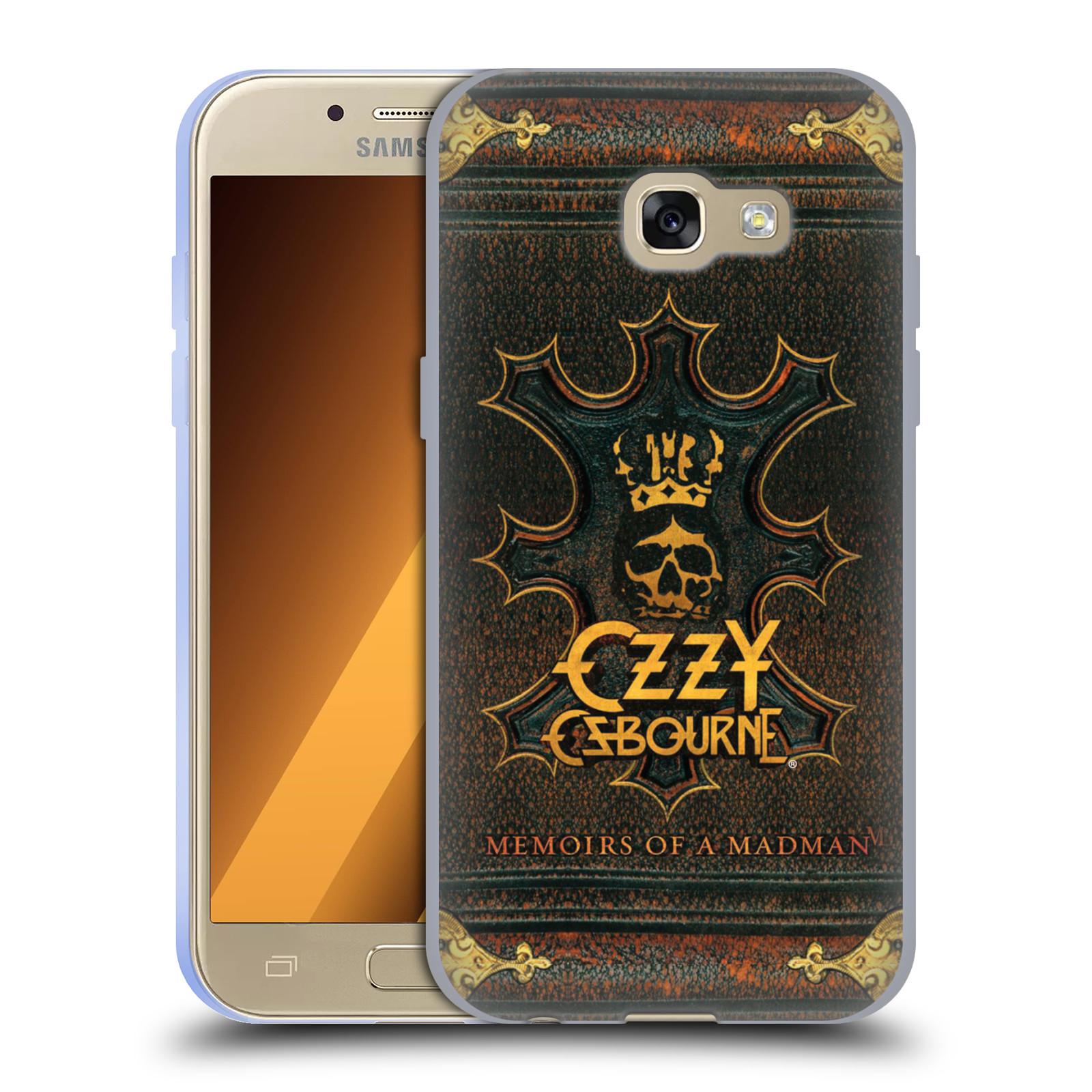 HEAD CASE silikonový obal na mobil Samsung Galaxy A3 2017 (A320) zpěvák Ozzy Osbourne koruna