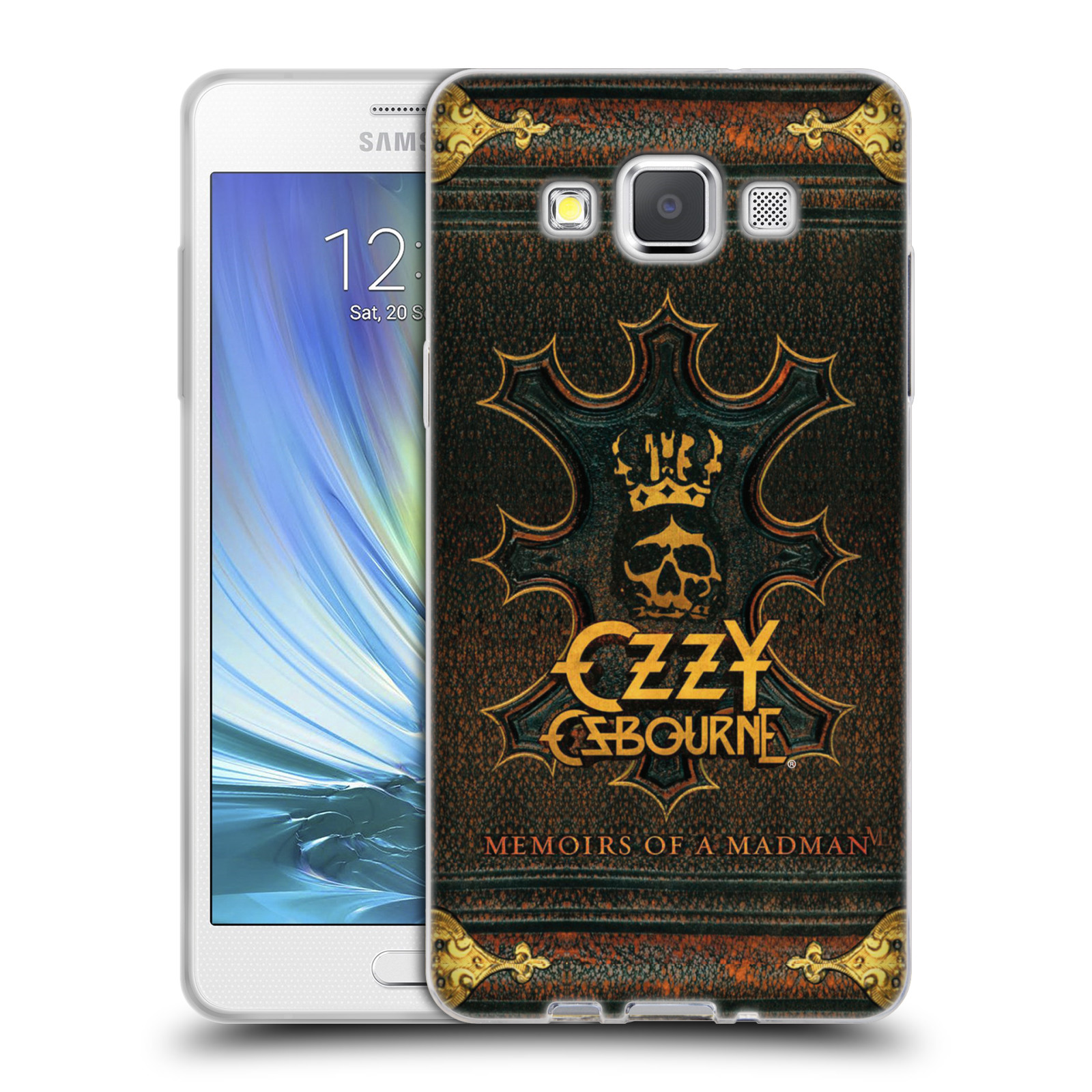 HEAD CASE silikonový obal na mobil Samsung Galaxy A5 (A500) zpěvák Ozzy Osbourne koruna