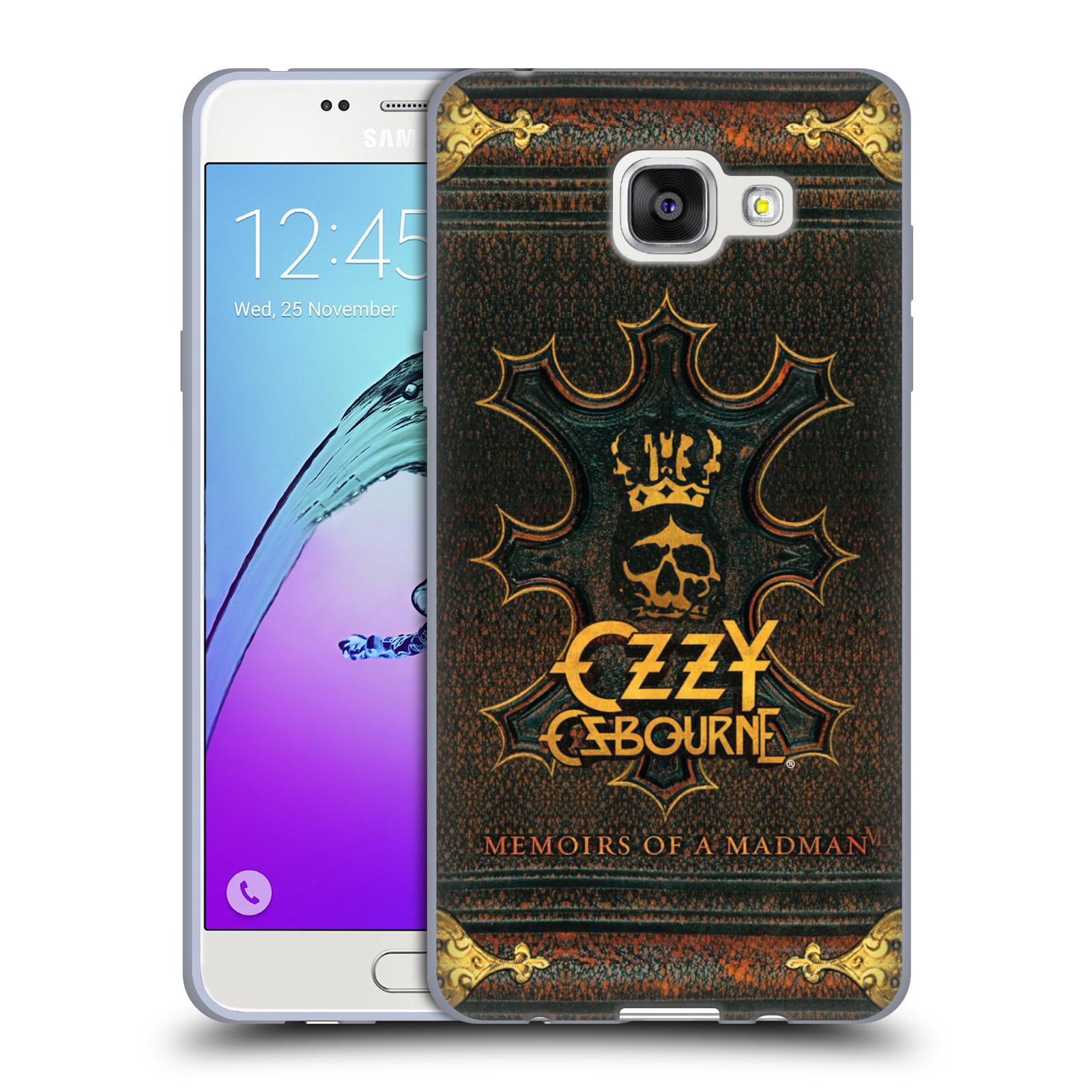 HEAD CASE silikonový obal na mobil Samsung Galaxy A5 2016 (A510) zpěvák Ozzy Osbourne koruna