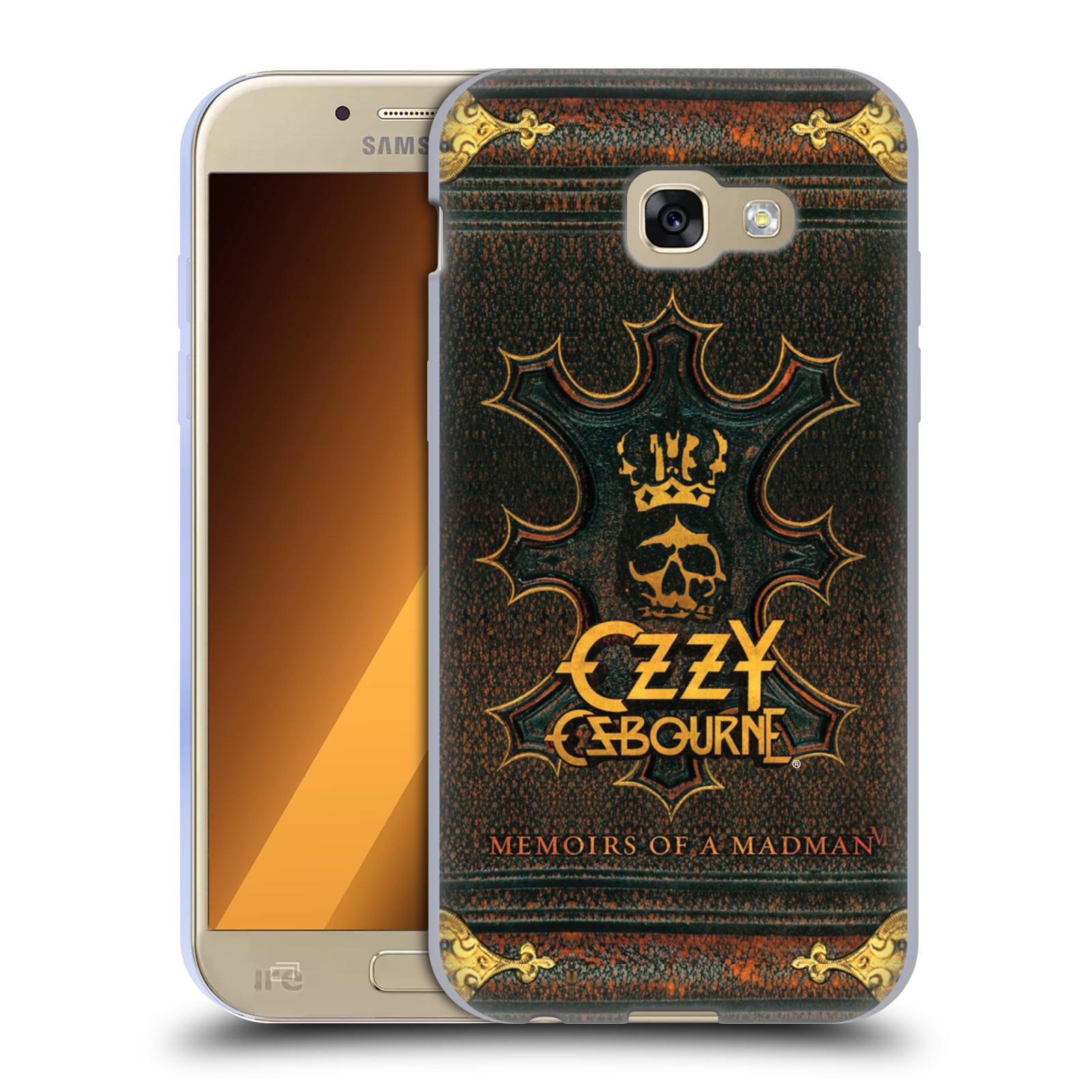 HEAD CASE silikonový obal na mobil Samsung Galaxy A5 2017 (A520) zpěvák Ozzy Osbourne koruna