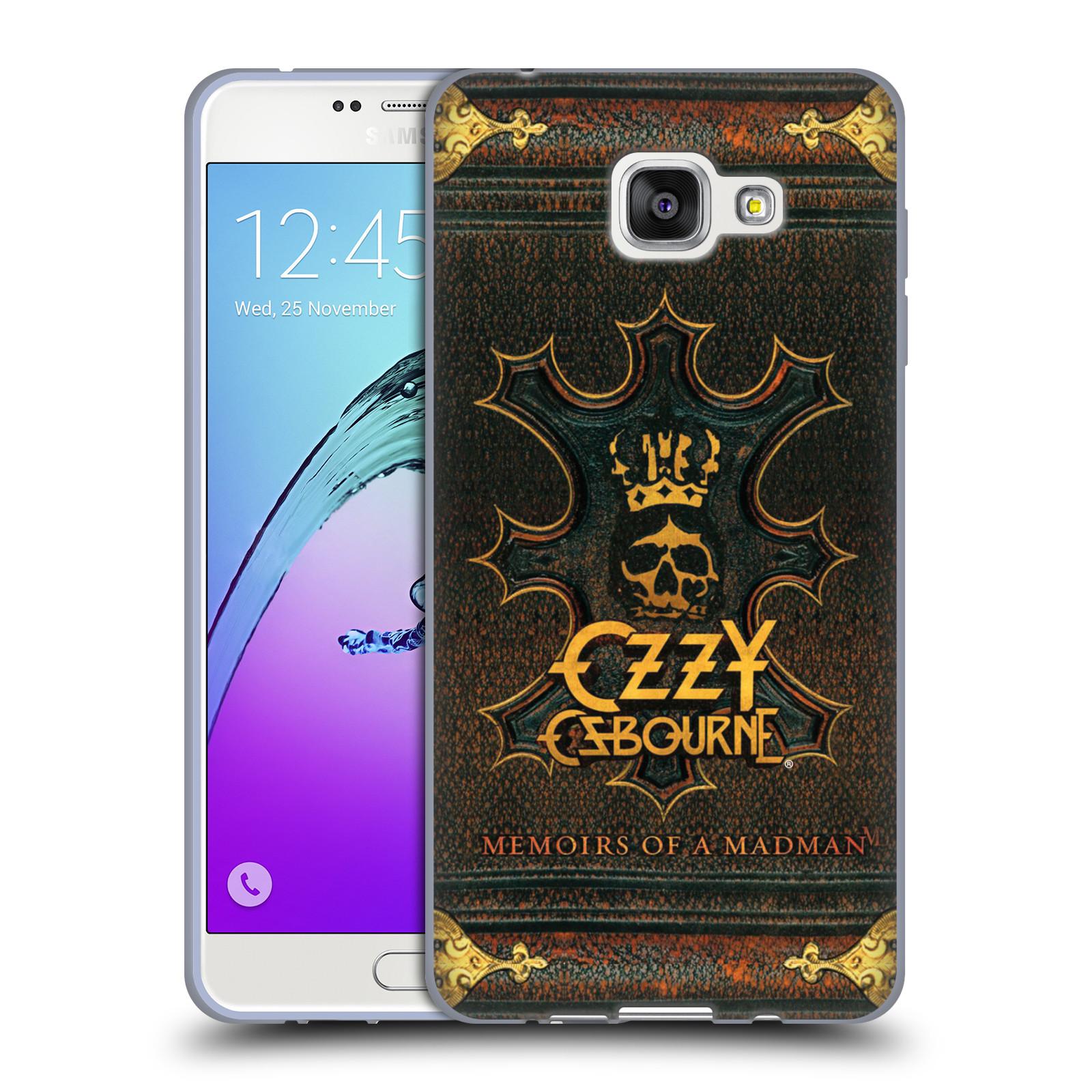 HEAD CASE silikonový obal na mobil Samsung Galaxy A7 2016 (A710) zpěvák Ozzy Osbourne koruna
