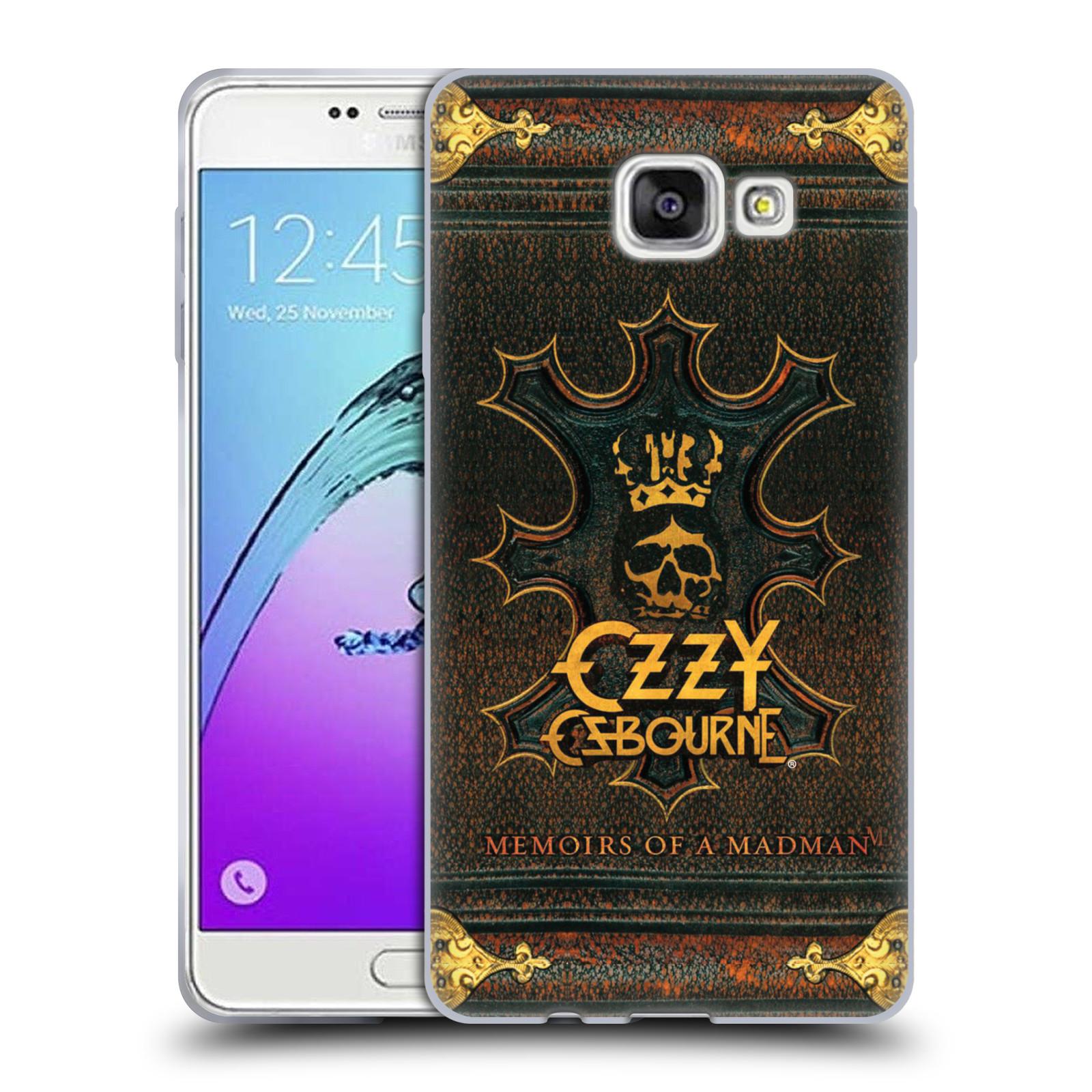 HEAD CASE silikonový obal na mobil Samsung Galaxy A7 2017 (A720) zpěvák Ozzy Osbourne koruna