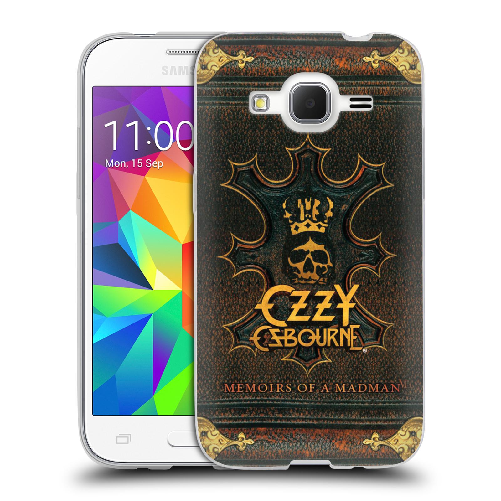HEAD CASE silikonový obal na mobil Samsung Galaxy Core Prime (G360) zpěvák Ozzy Osbourne koruna