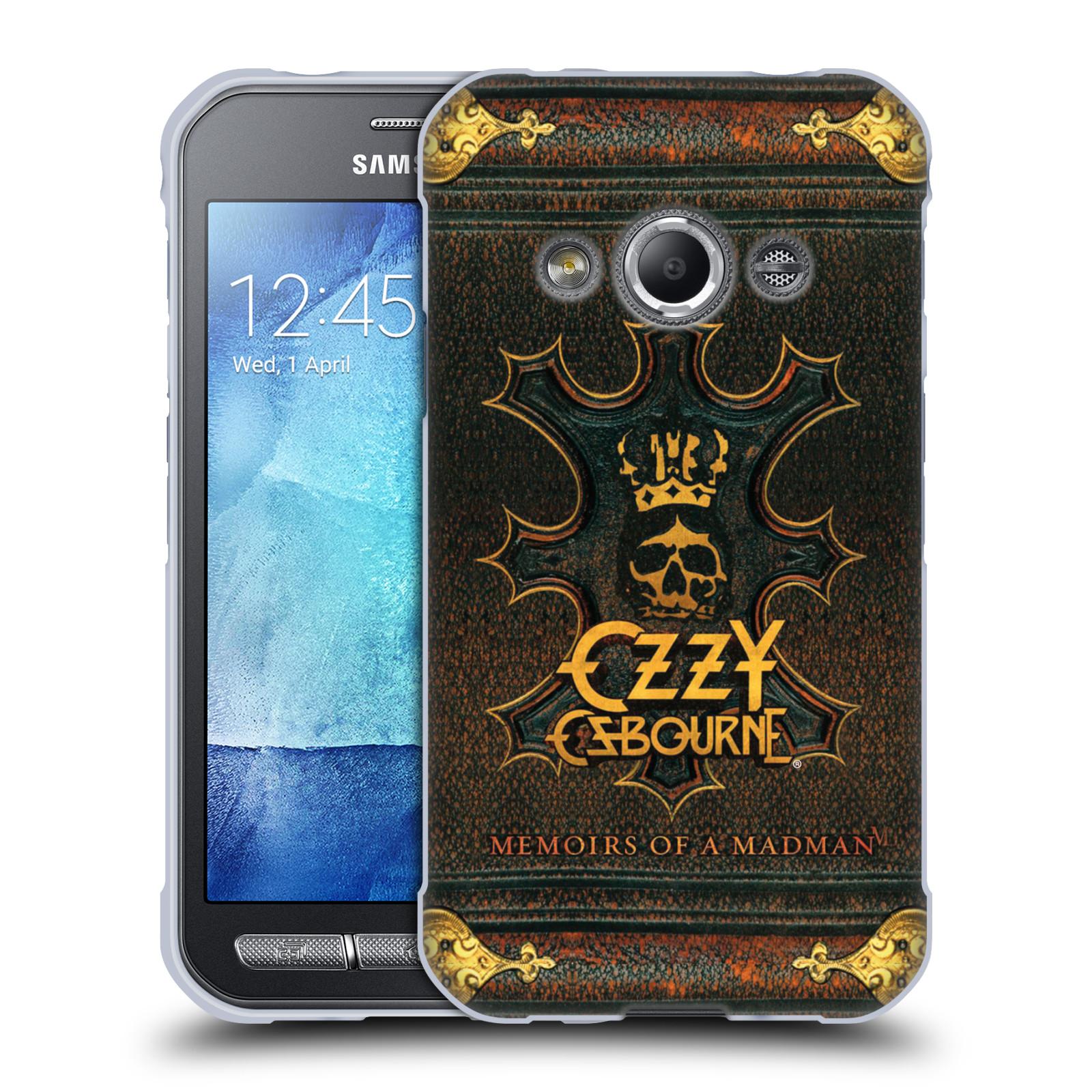 HEAD CASE silikonový obal na mobil Samsung Galaxy Xcover 3 zpěvák Ozzy Osbourne koruna