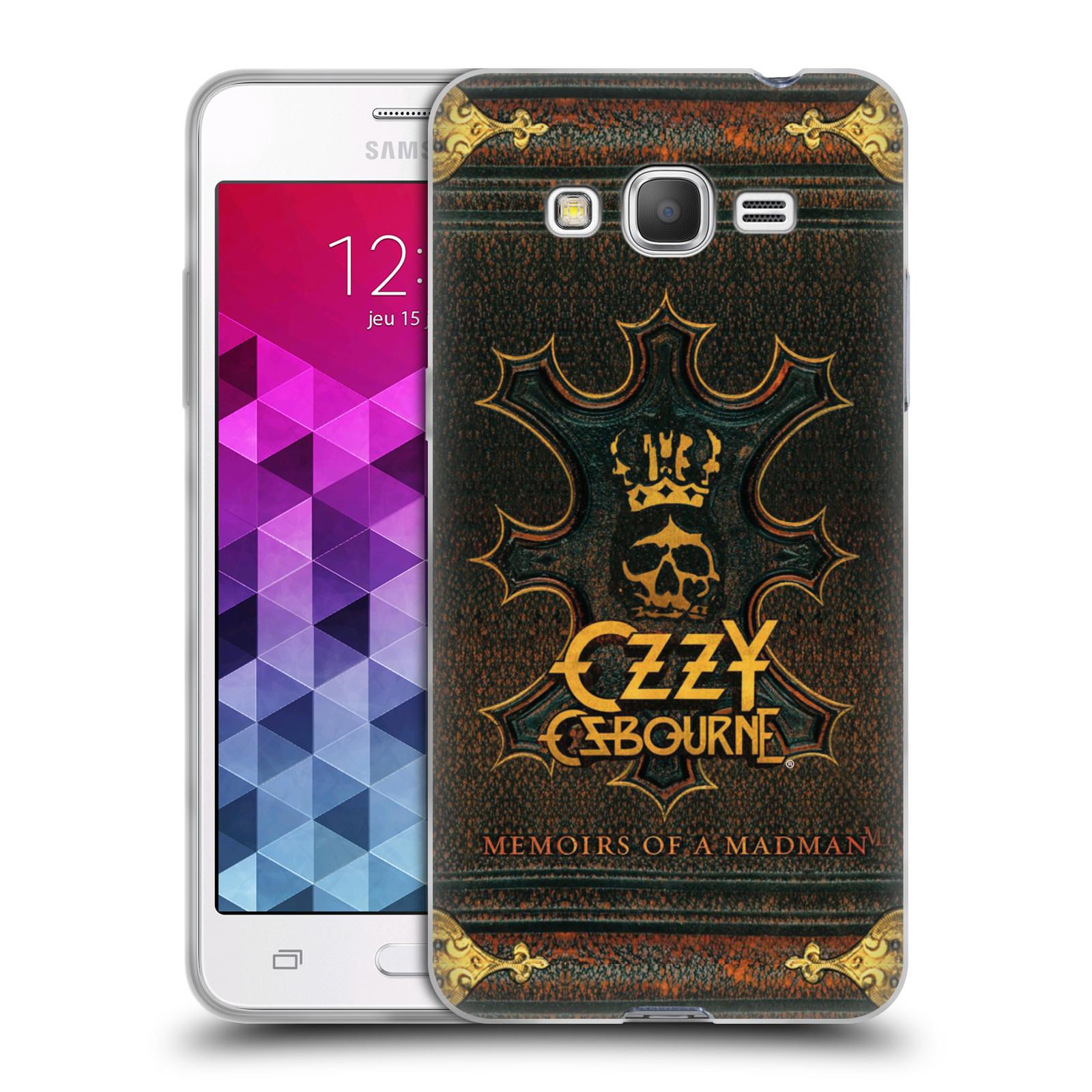 HEAD CASE silikonový obal na mobil Samsung Galaxy Grand Prime zpěvák Ozzy Osbourne koruna