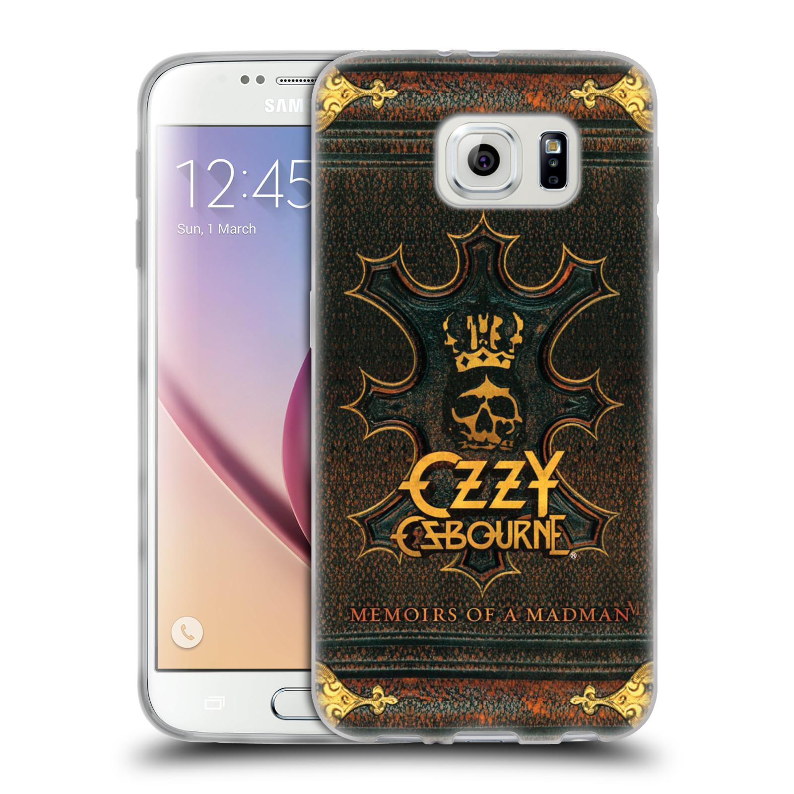 HEAD CASE silikonový obal na mobil Samsung Galaxy S6 zpěvák Ozzy Osbourne koruna