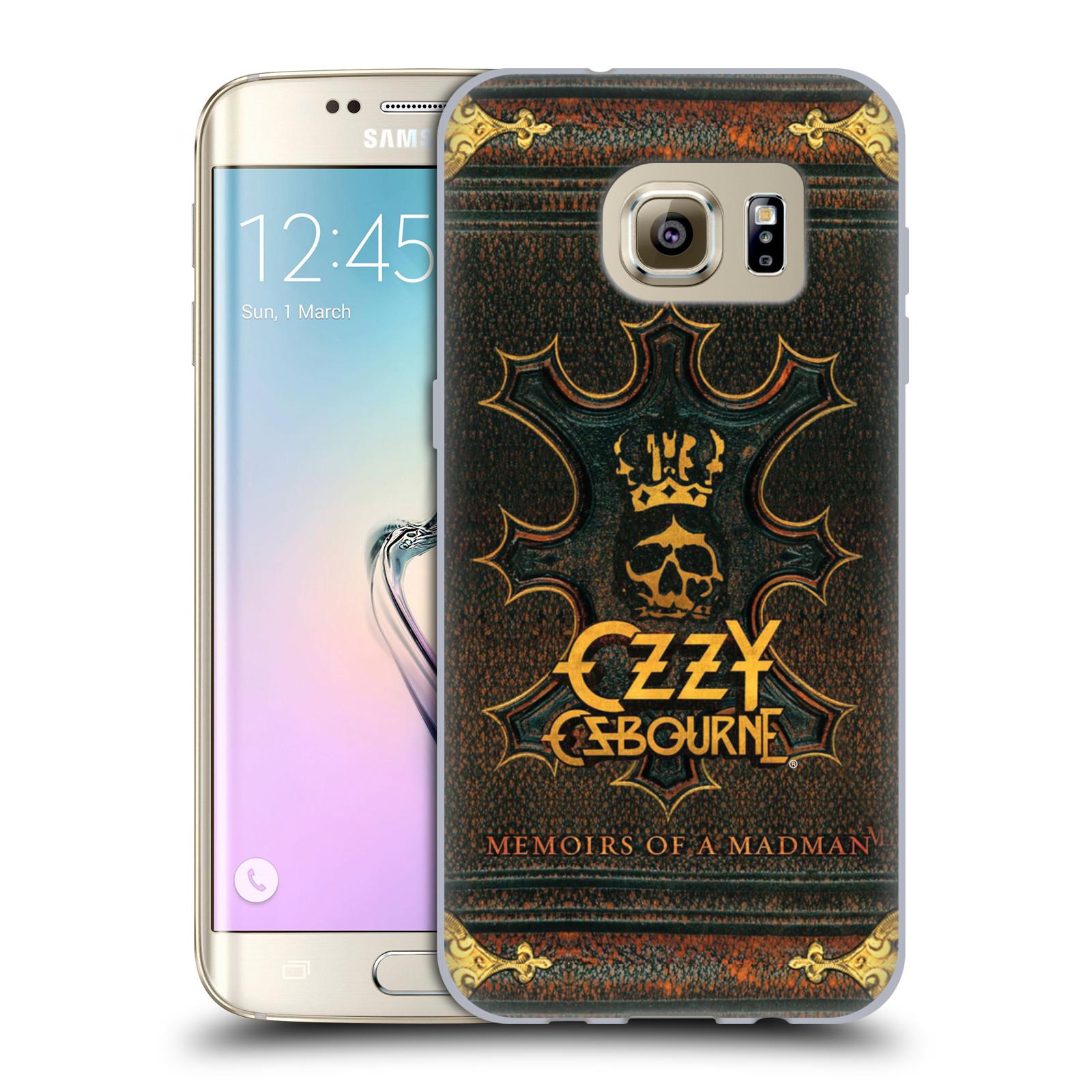 HEAD CASE silikonový obal na mobil Samsung Galaxy S7 EDGE zpěvák Ozzy Osbourne koruna