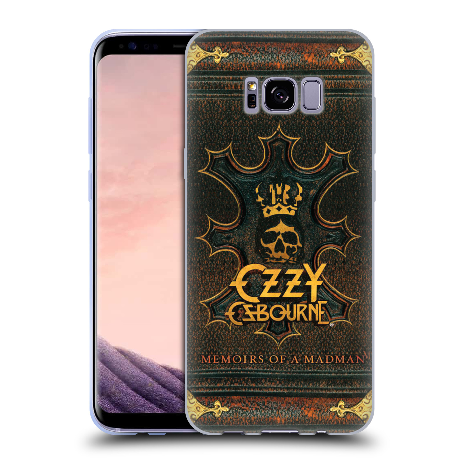 HEAD CASE silikonový obal na mobil Samsung Galaxy S8 PLUS zpěvák Ozzy Osbourne koruna