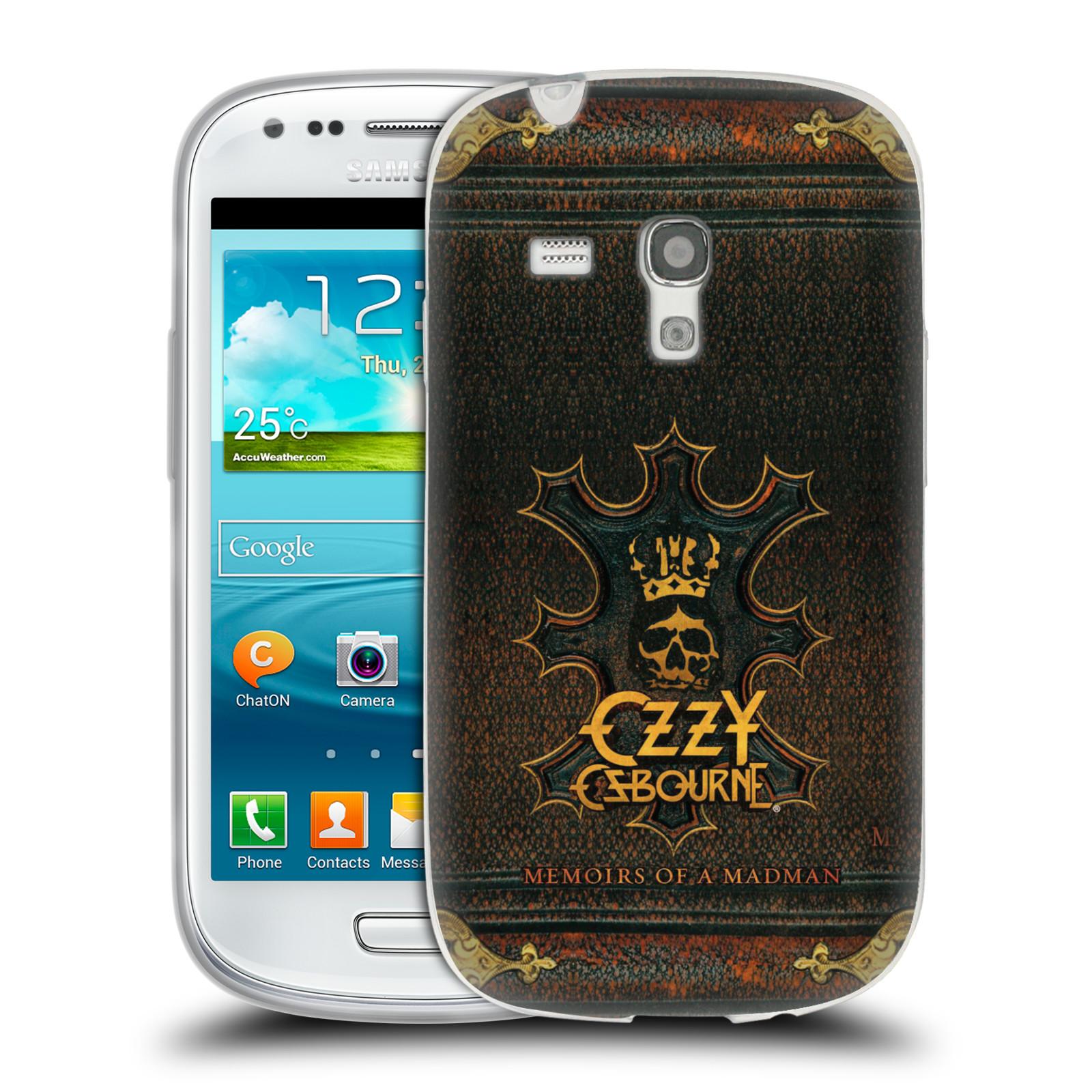 HEAD CASE silikonový obal na mobil Samsung Galaxy S3 MINI zpěvák Ozzy Osbourne koruna