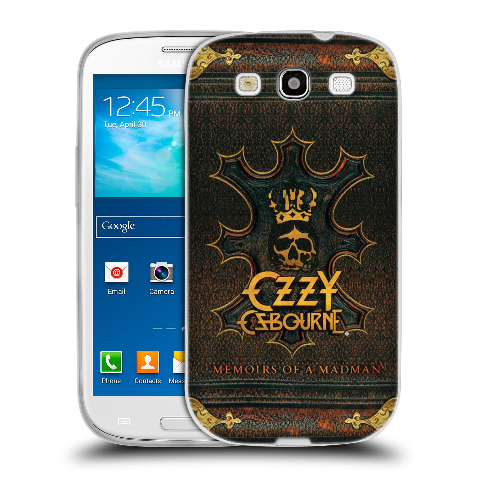 HEAD CASE silikonový obal na mobil Samsung Galaxy S3 zpěvák Ozzy Osbourne koruna