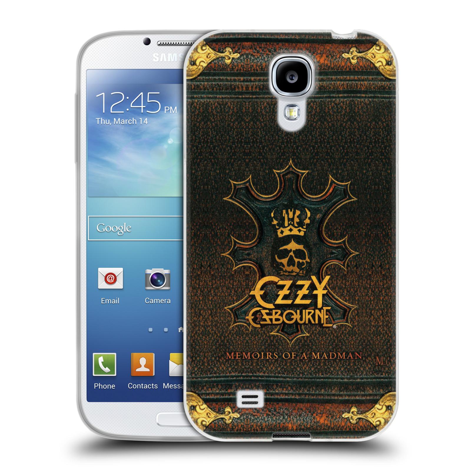 HEAD CASE silikonový obal na mobil Samsung Galaxy S4 zpěvák Ozzy Osbourne koruna
