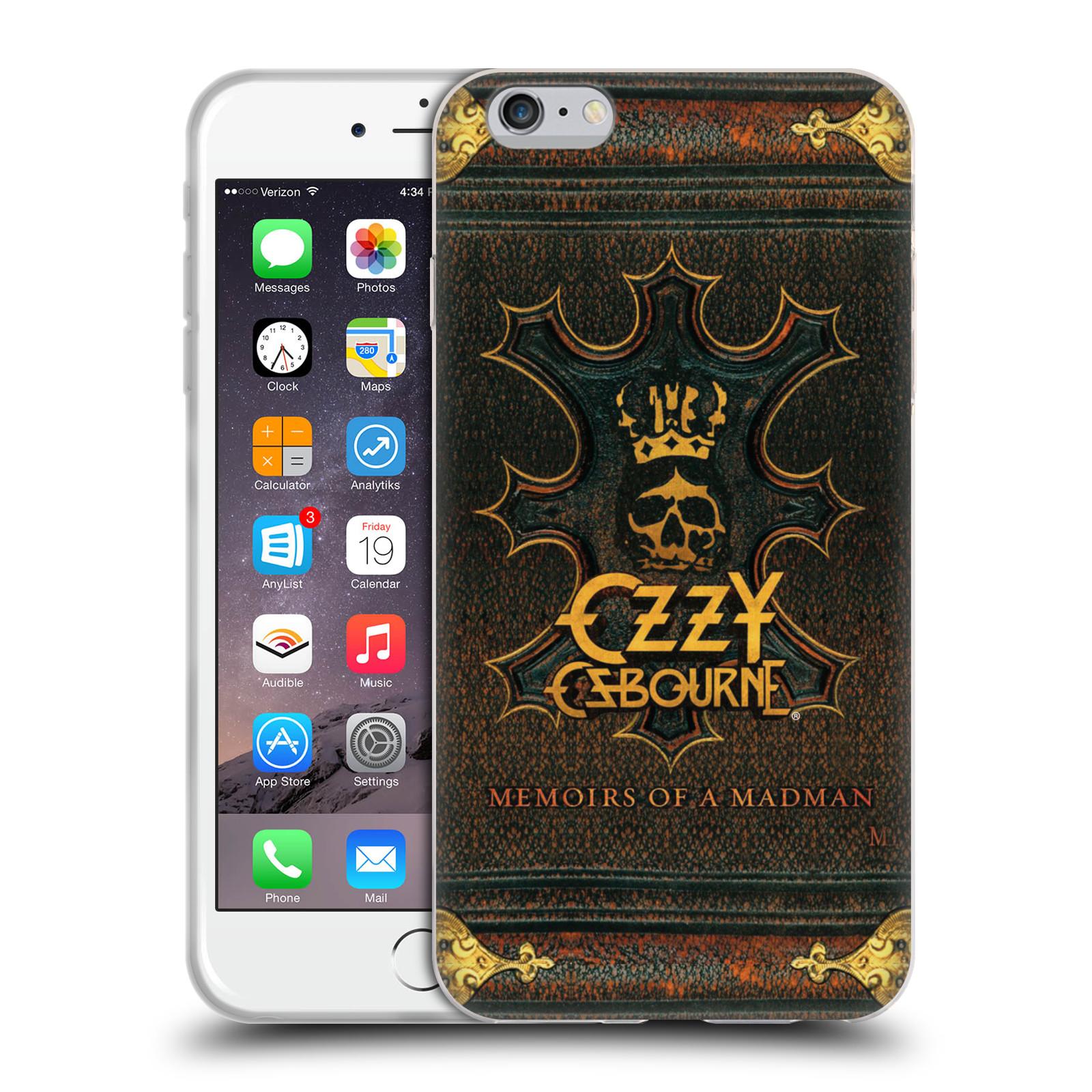 HEAD CASE silikonový obal na mobil Apple Iphone 6/6S PLUS zpěvák Ozzy Osbourne koruna