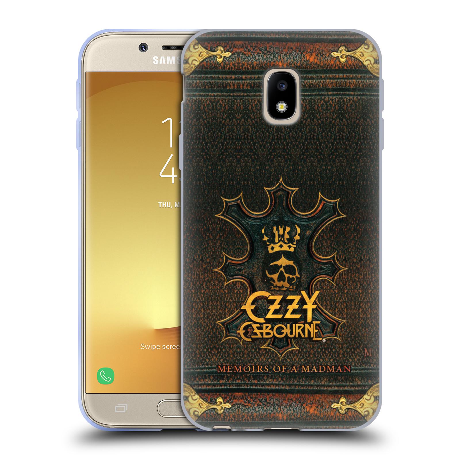 HEAD CASE silikonový obal na mobil Samsung Galaxy J3 2017 (J330, J330F) zpěvák Ozzy Osbourne koruna