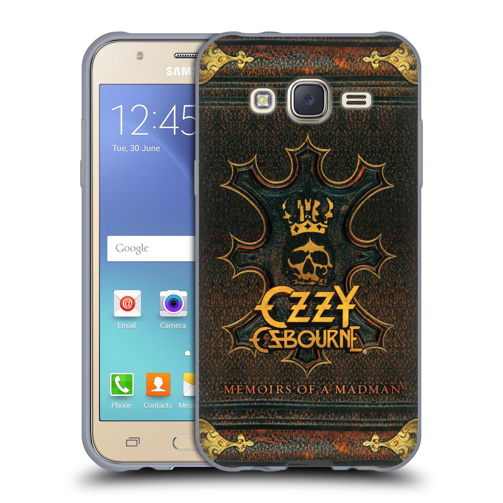 HEAD CASE silikonový obal na mobil Samsung Galaxy J5 2015 (J500) zpěvák Ozzy Osbourne koruna